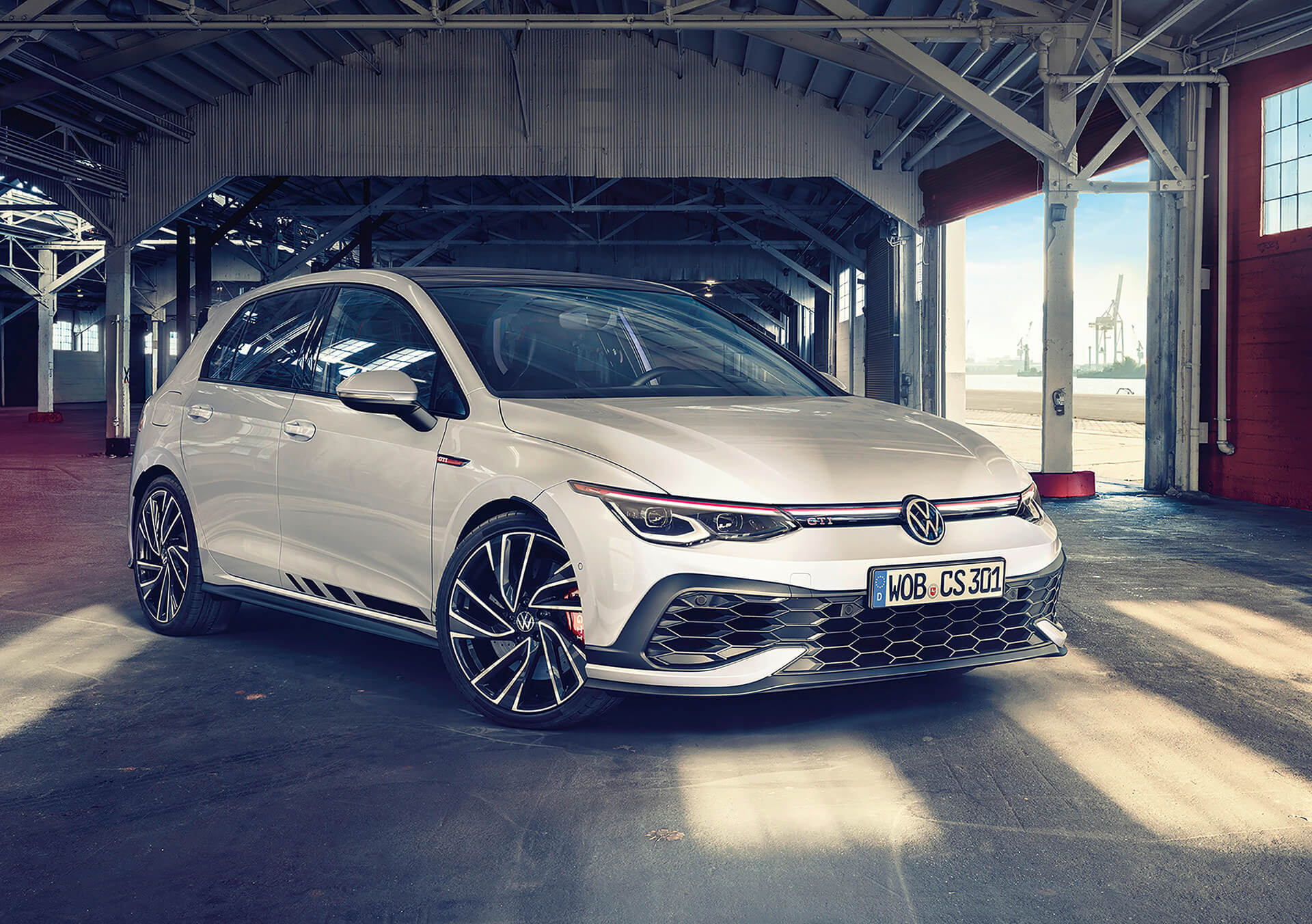 Νέο Volkswagen Golf GTI Clubsport - Εμπρός όψη