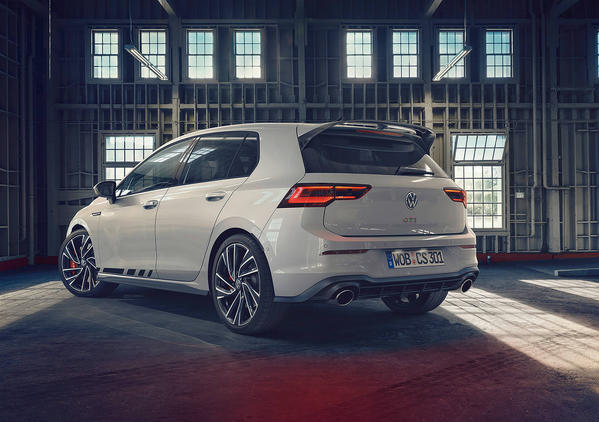 Νέο Volkswagen Golf GTI Clubsport - Πίσω όψη