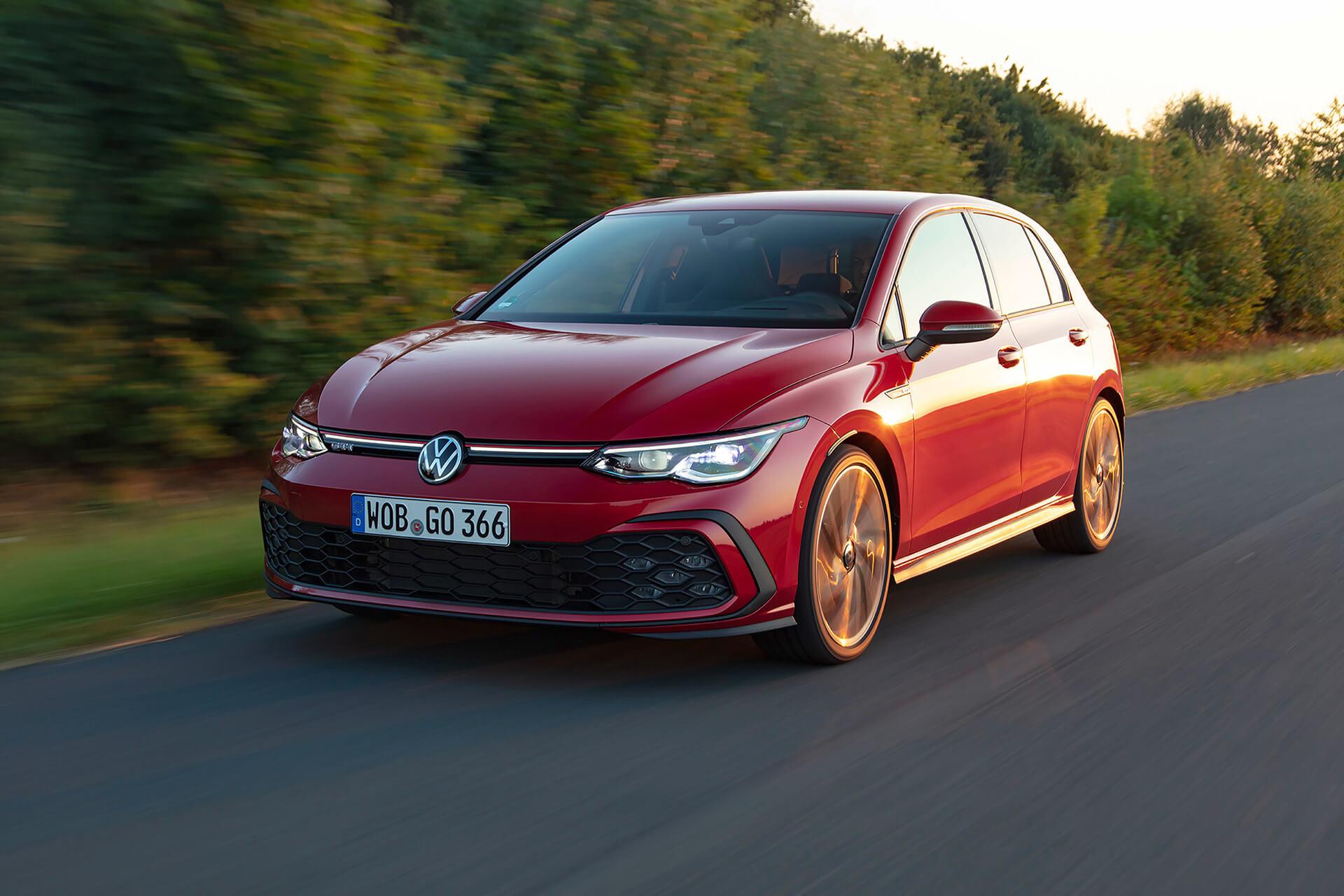 Νέο Volkswagen Golf GTI - Σε κίνηση, εμπρός όψη