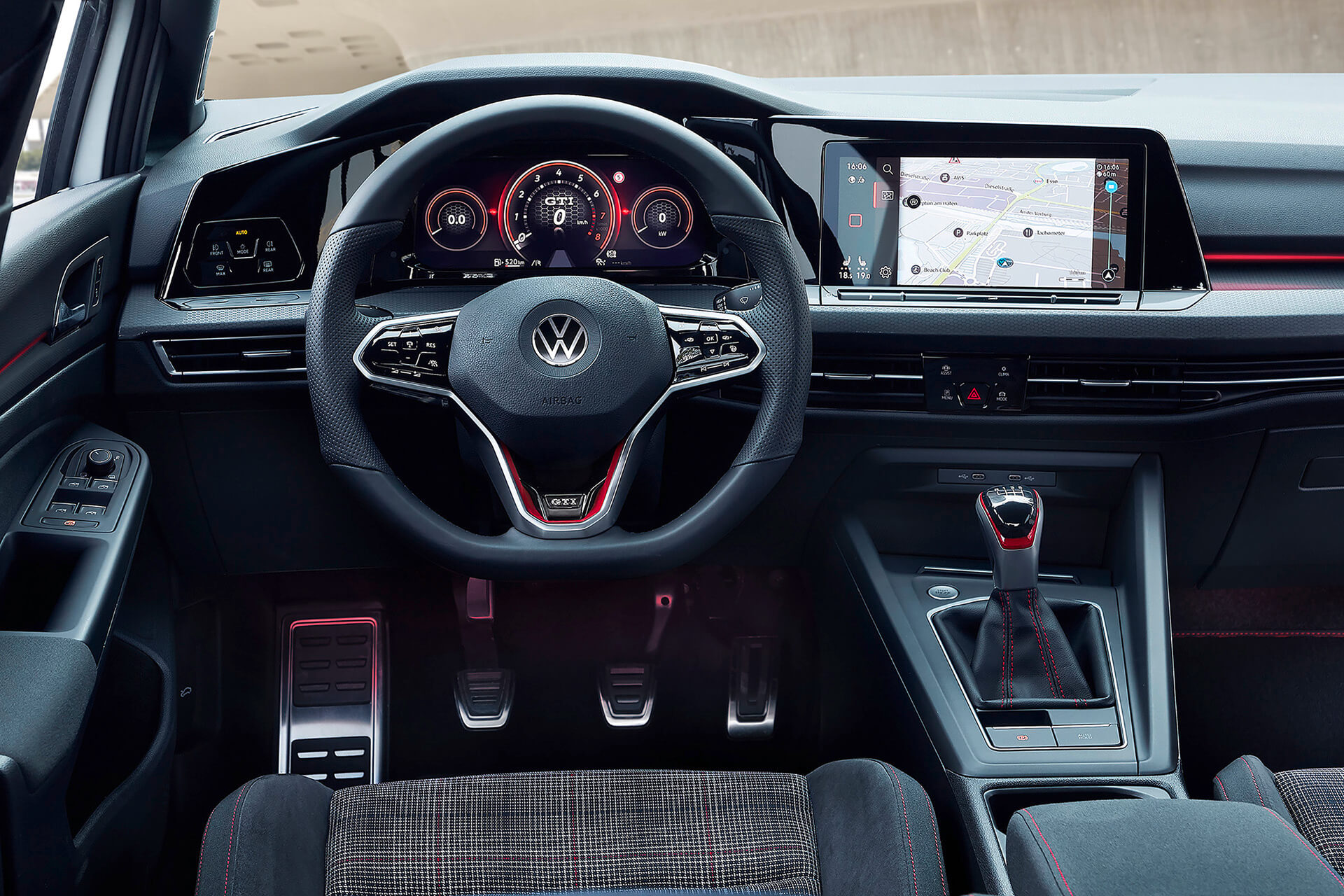 Νέο Volkswagen Golf GTI - Εσωτερικό