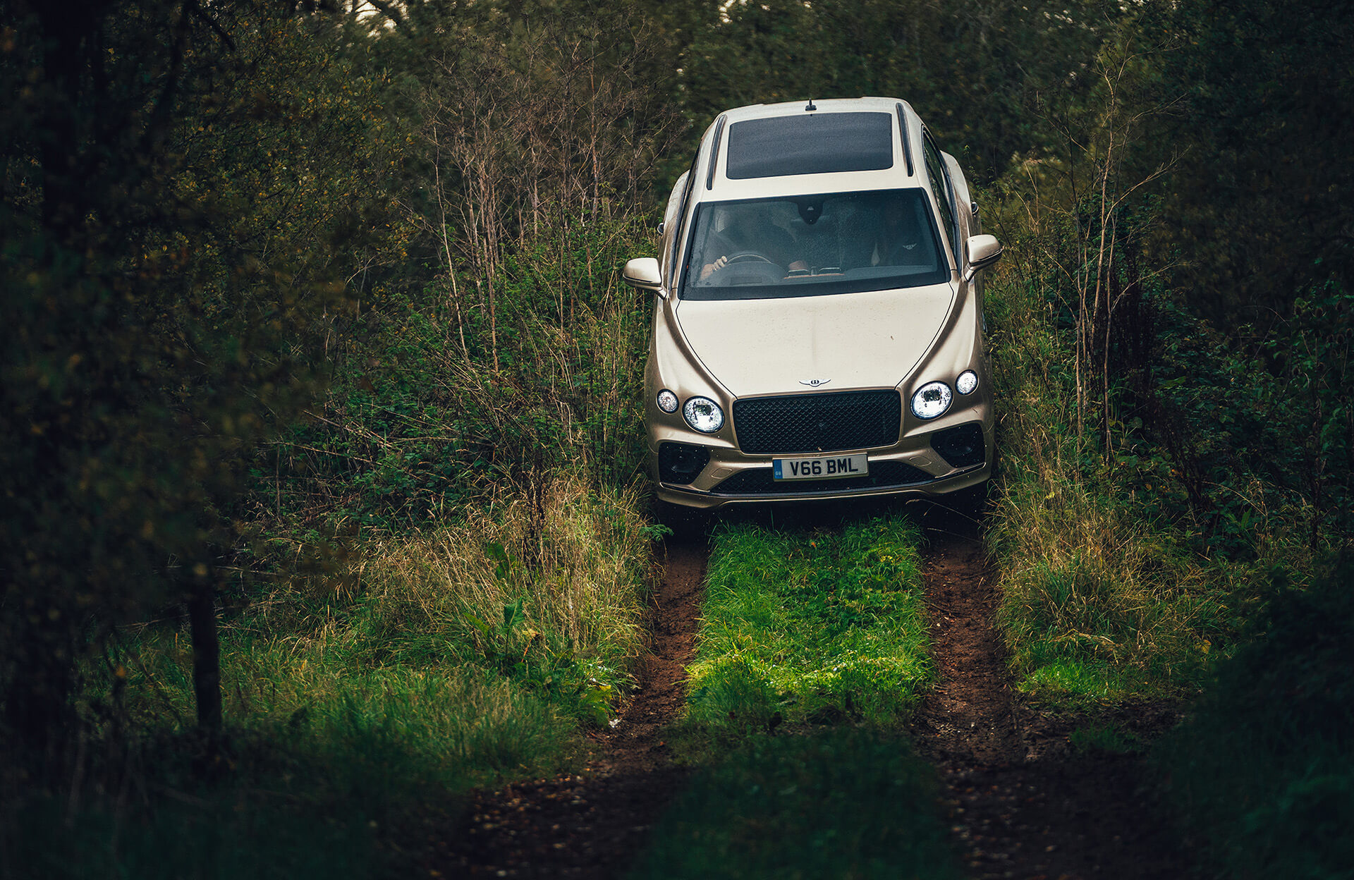 Bentley Bentayga 4x4 - Off-road οδήγηση