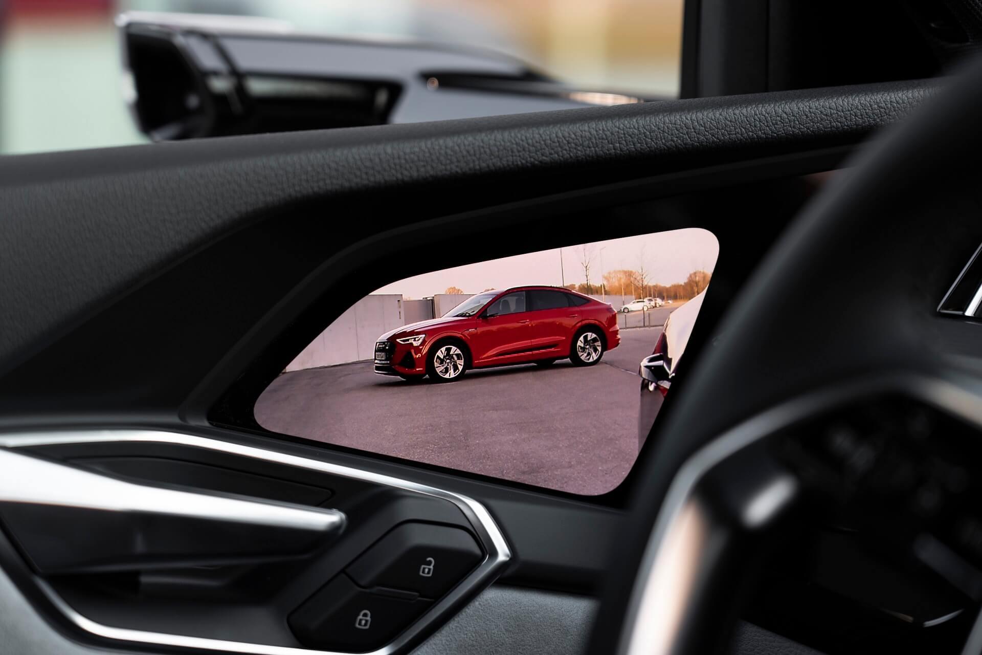 Audi e-tron - Εικονικοί καθρέφτες