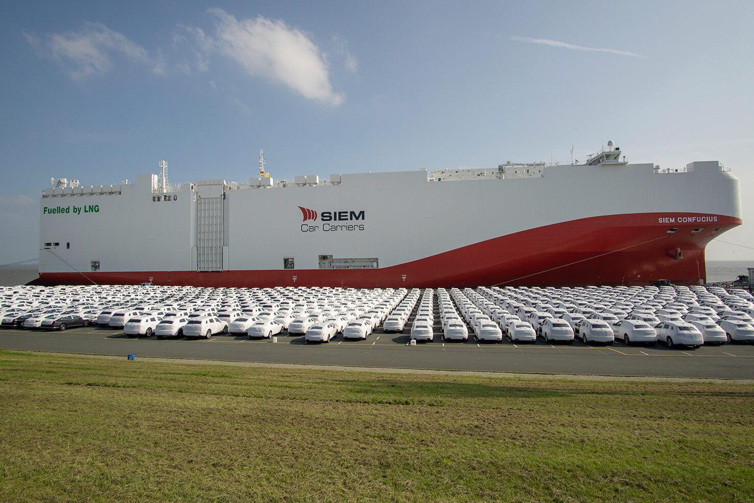 Volkswagen Group - Πλοία με LNG