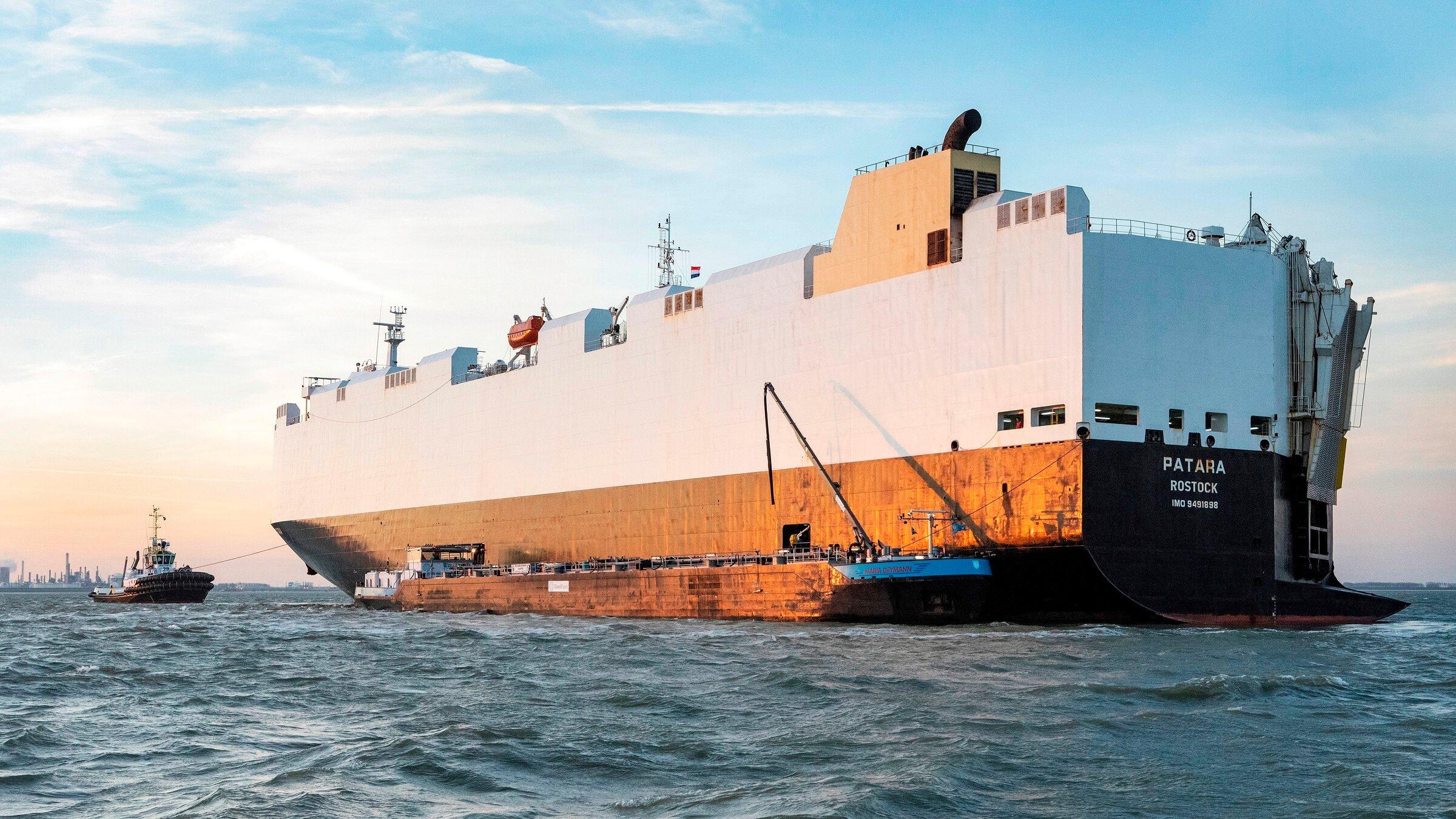 Volkswagen Group - Πλοία με βιοκαύσιμο