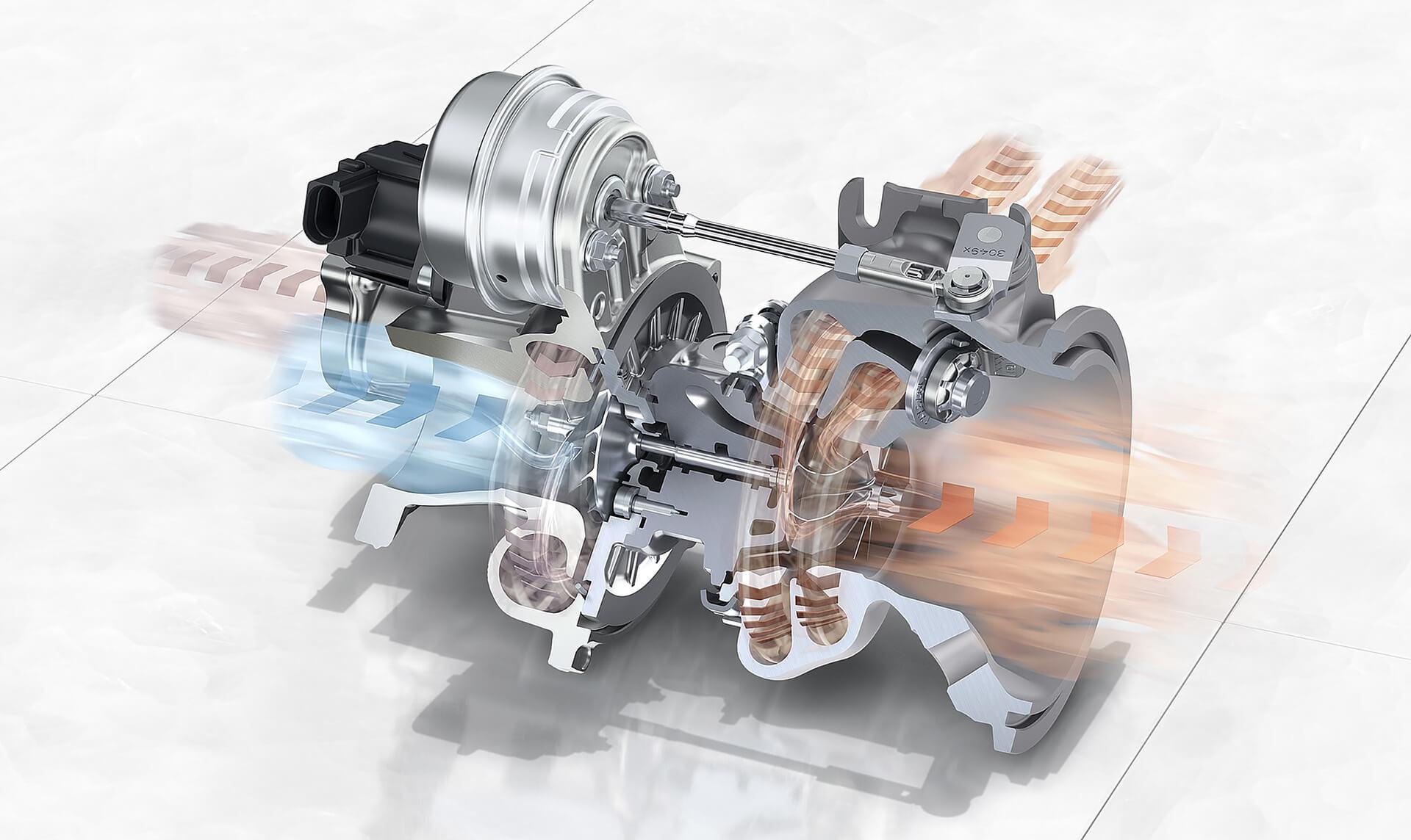 Bentley Flying Spur V8 - Κινητήρας
