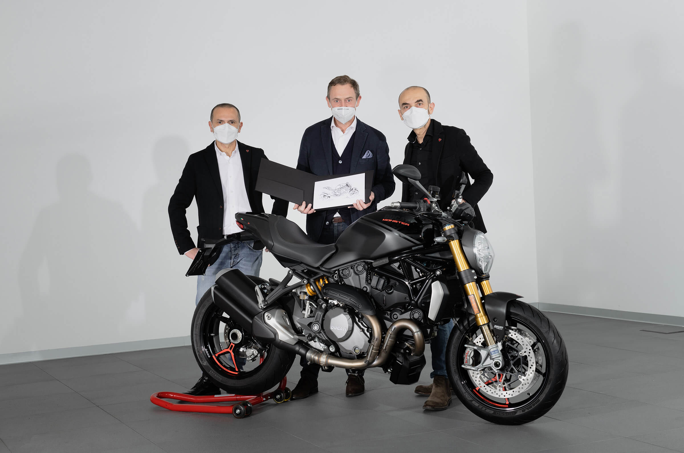 DUCATI MONSTER A.FERRARESI F. DE ROSE C.DOMENICALI
