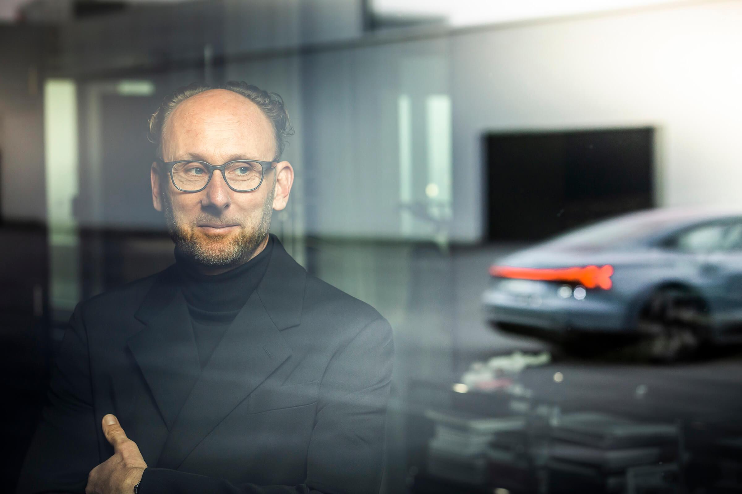 Marc Lichte, επικεφαλής της Audi Design για το Audi e-tron GT