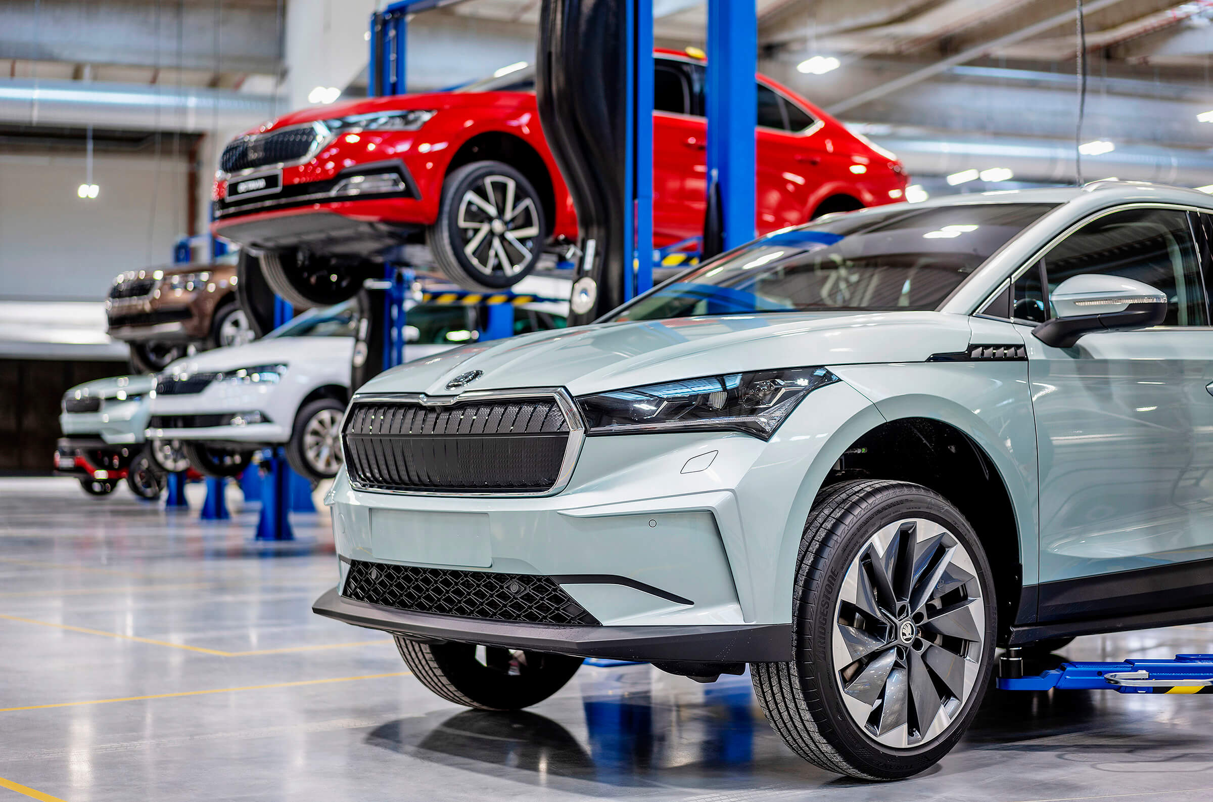 SKODA NEW TEST & CONCEPT CARS CENTER