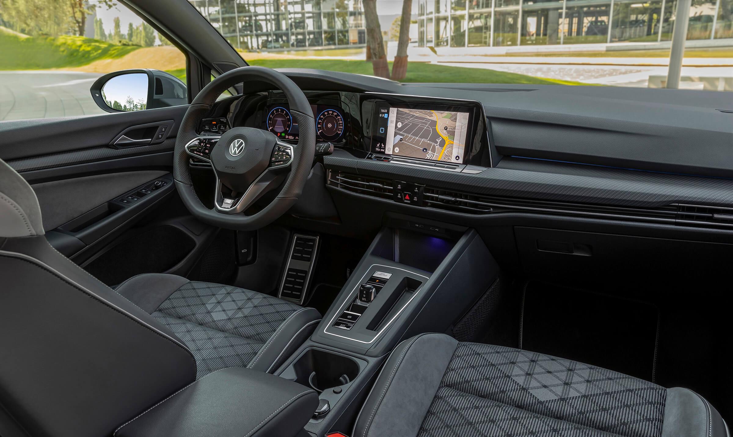 Νέο Volkswagen Golf - Εσωτερικό