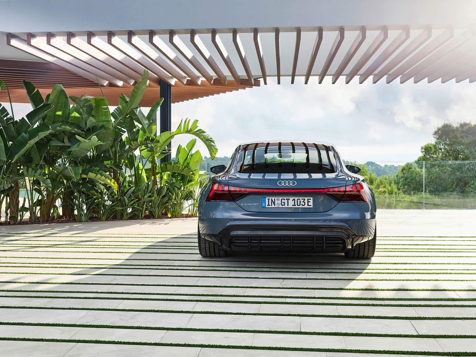 Audi e-tron GT - Πίσω όψη
