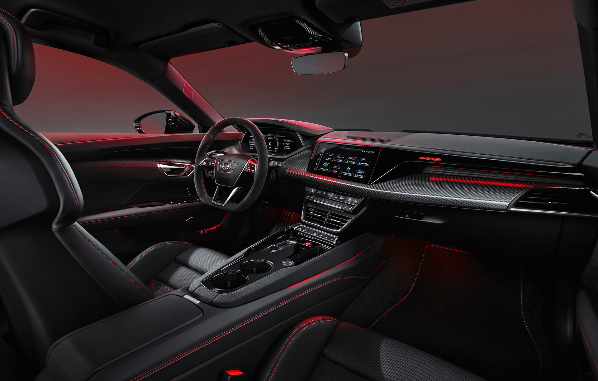 Audi e-tron GT - Εσωτερικό - Infotainment και Audi connect