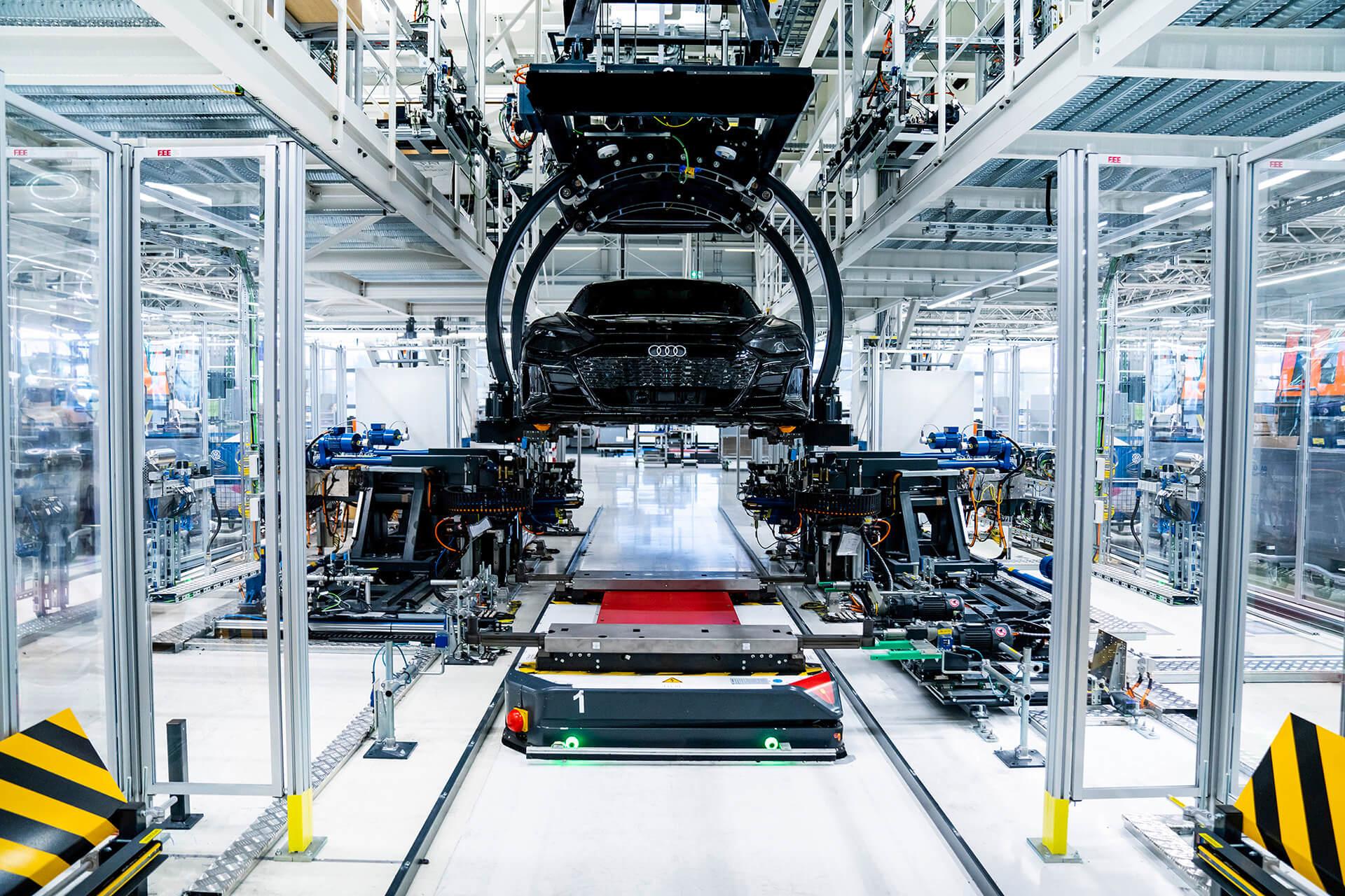 Audi e-tron GT - Εργοστάσιο κατασκευής