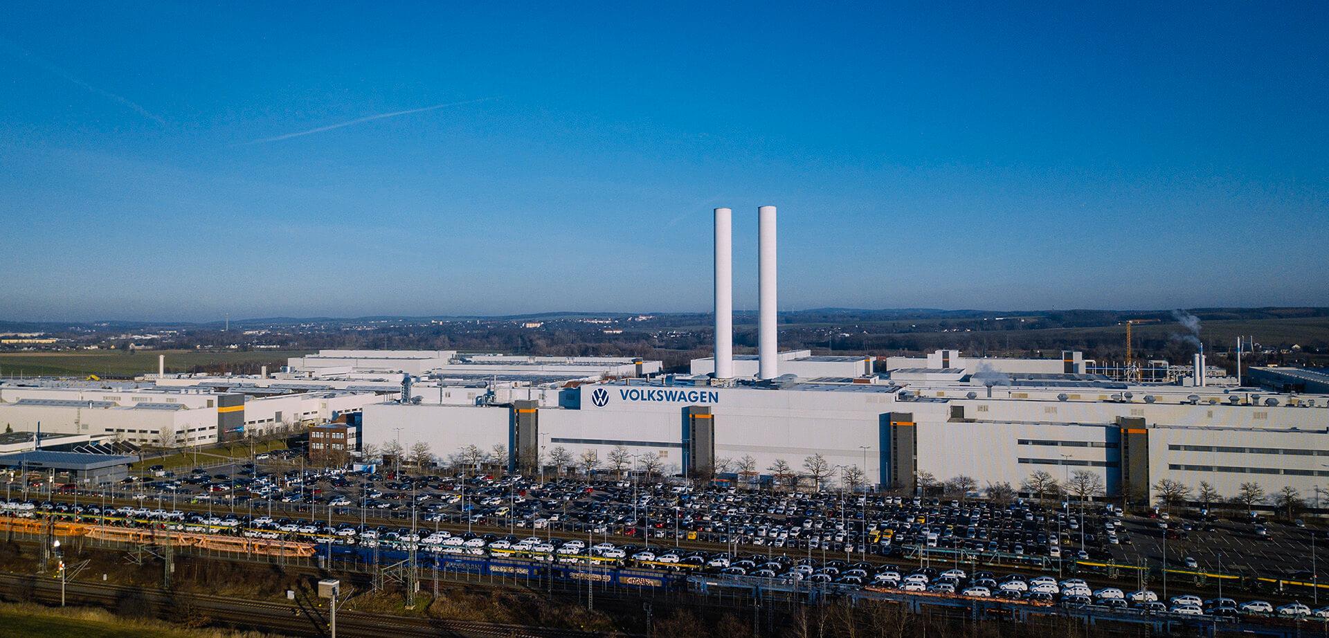 Volkswagen Εργοστάσιο Zwickau