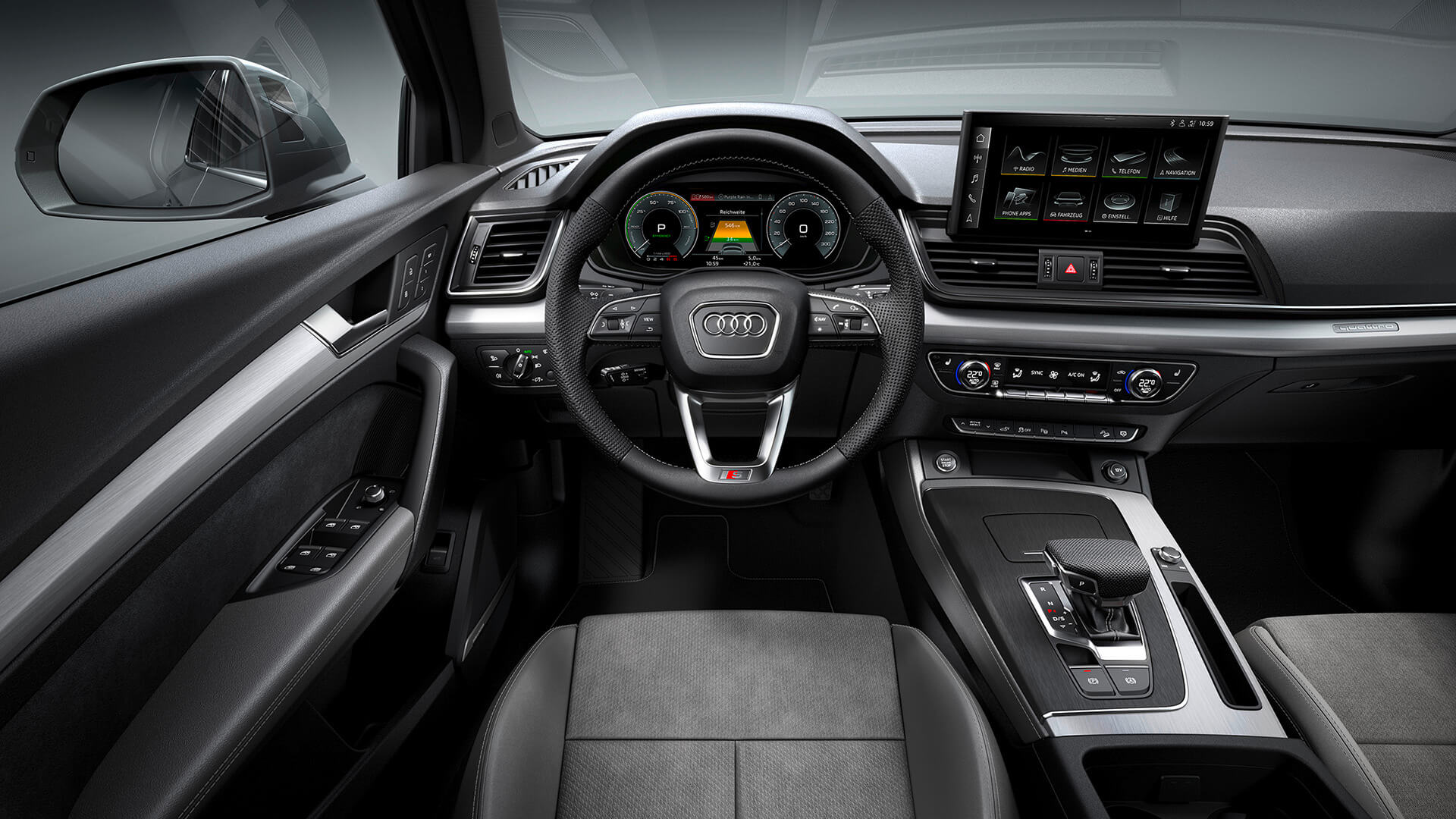 Audi Q5 TFSI e - Εσωτερικό