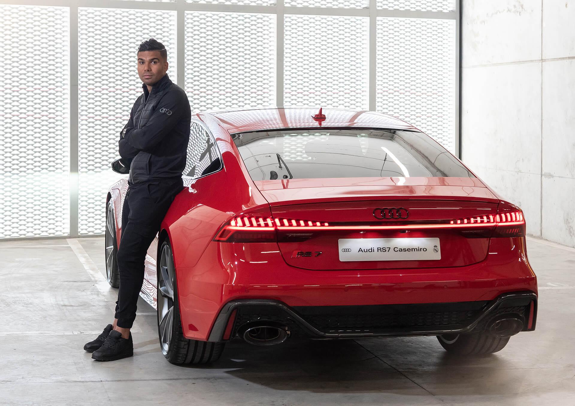AUDI & REAL MADRID - Carlos Casemiro - Audi RS 7 Sportback 4.0 TFSI quattro