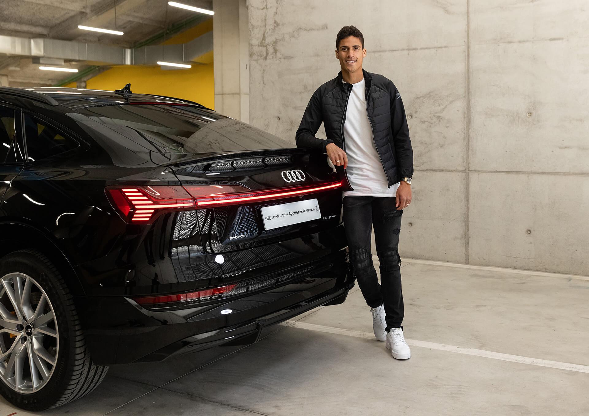 AUDI & REAL MADRID - Raphaël Varane - Audi e-tron Sportback 55 quattro