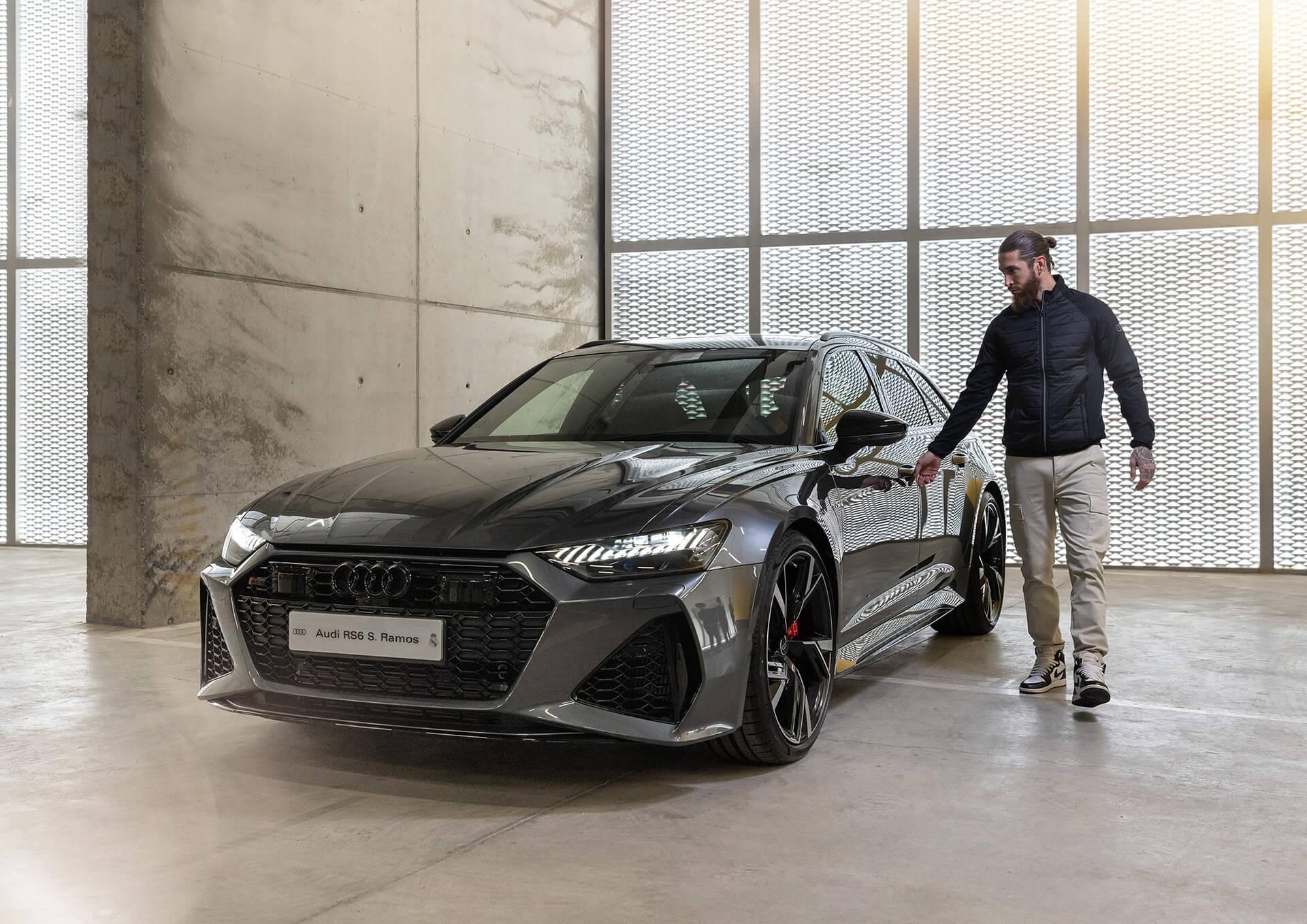 AUDI & REAL MADRID - Sergio Ramos - Audi RS 6 Avant 4.0 TFSI quattro