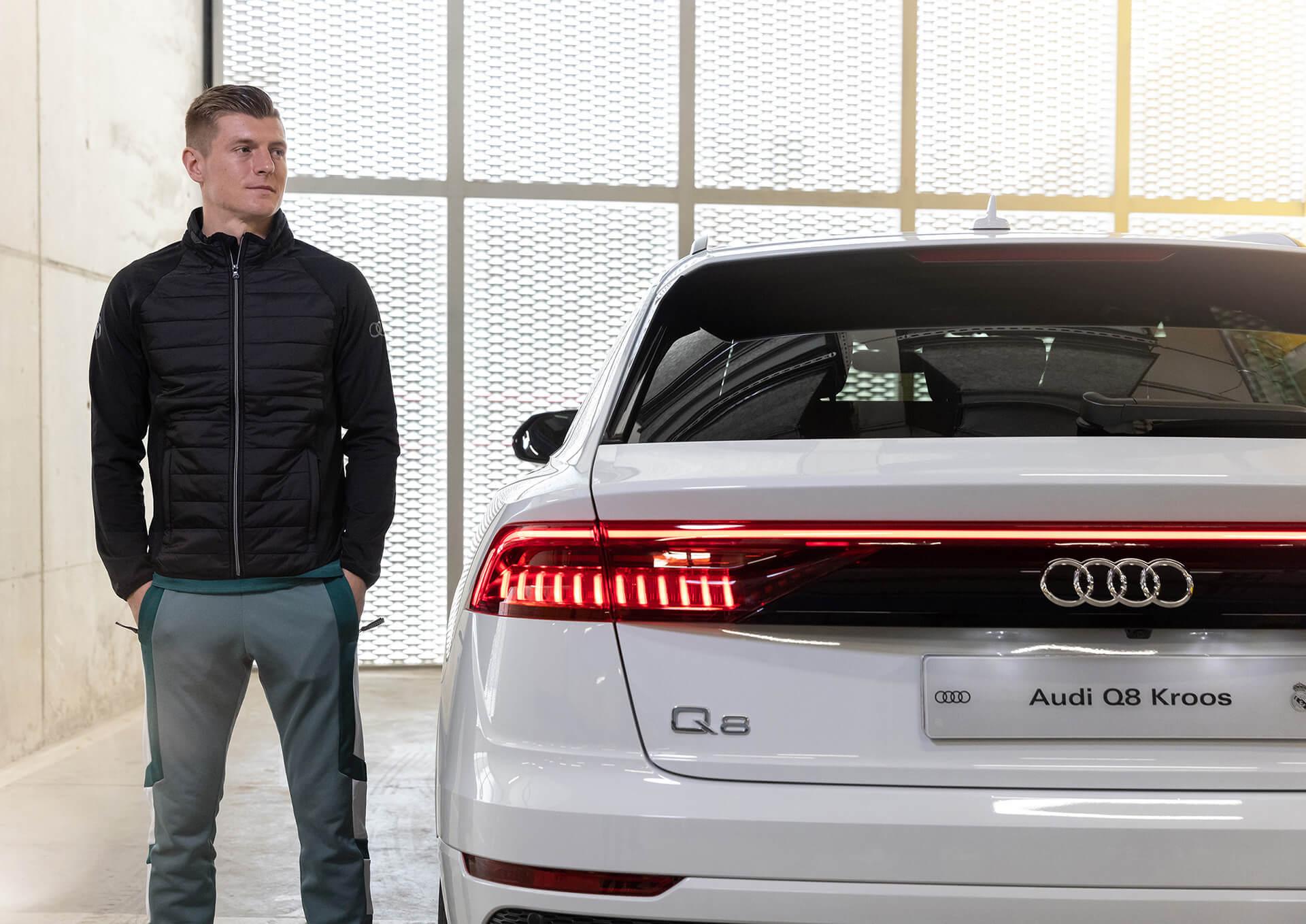 AUDI & REAL MADRID - Toni Kroos - Audi Q8 50 TDI quattro