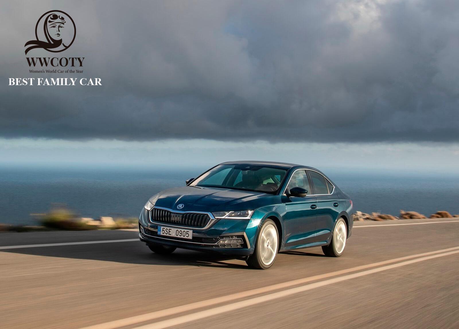 SKODA OCTAVIA - BEST FAMILY CAR - WOMENS WORLD CAR OF THE YEAR 2020