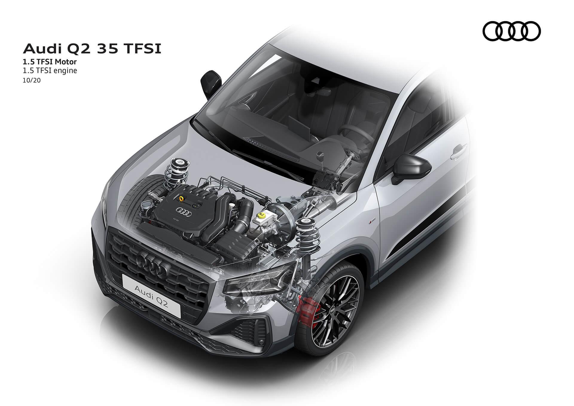 NEO AUDI Q2 - Κινητήρας