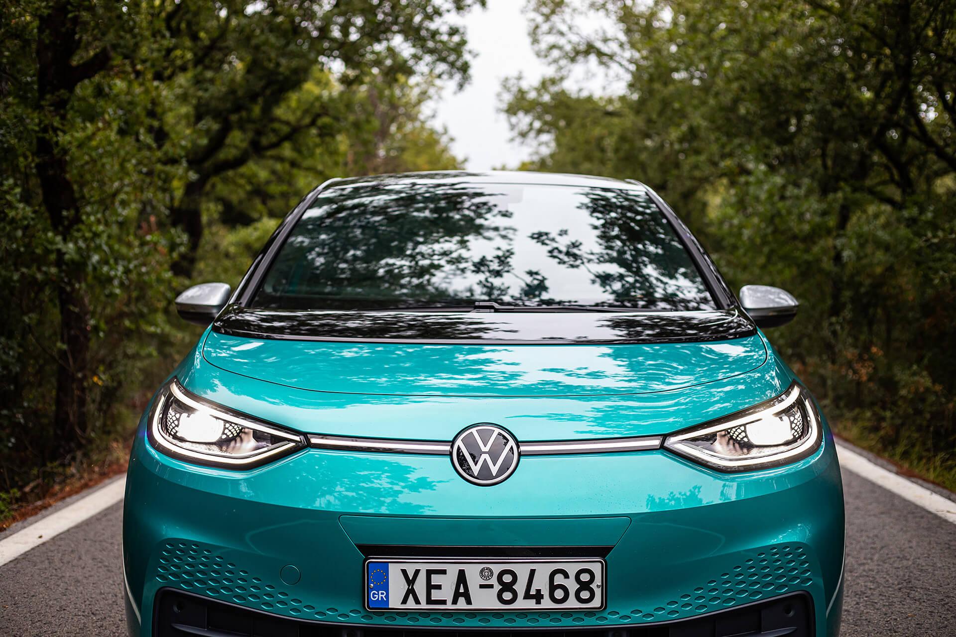 VW ID.3 - Εμπρός όψη