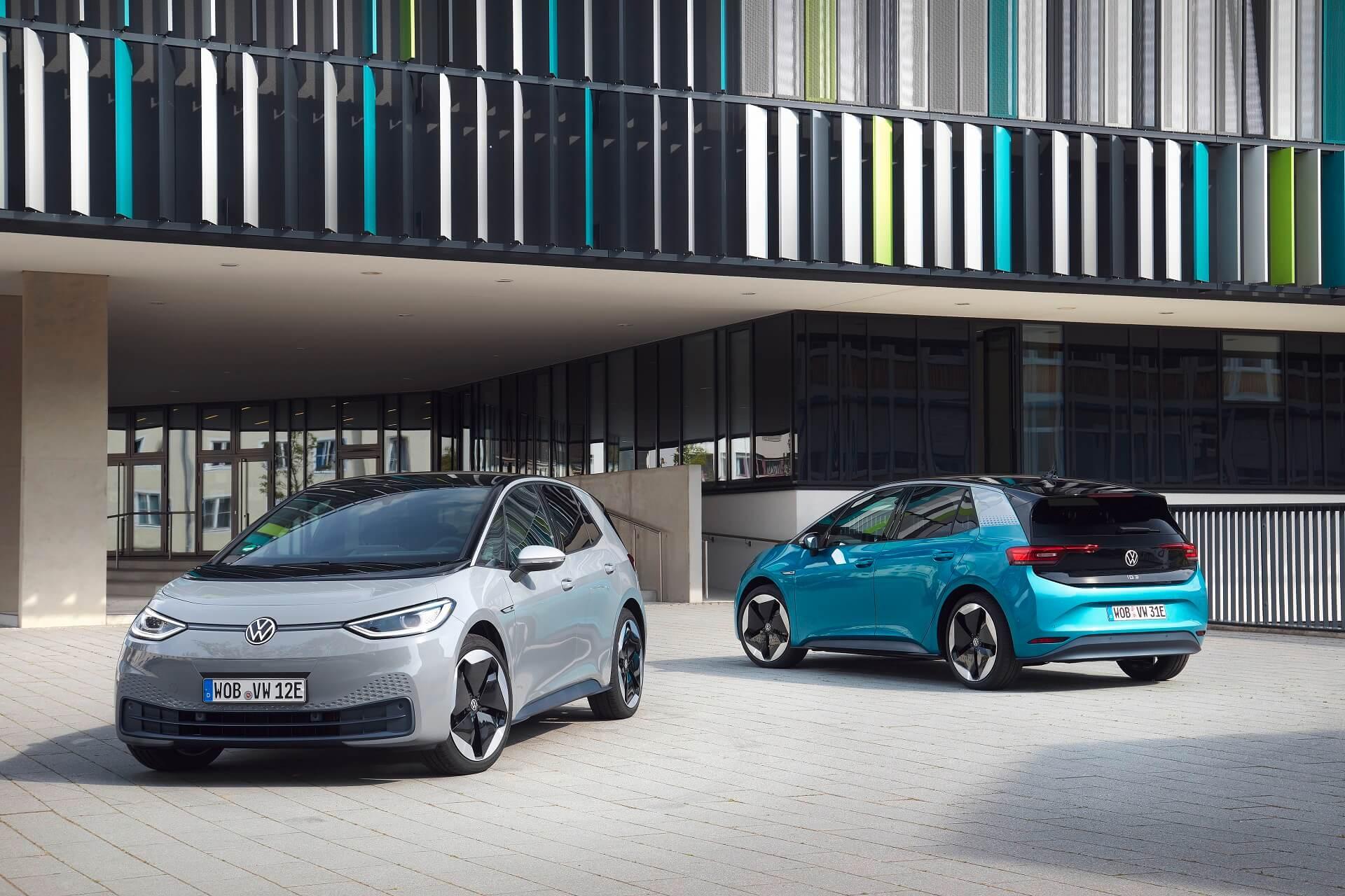 VW ID.3 - Εξωτερικά χρώματα και πακέτα στυλ