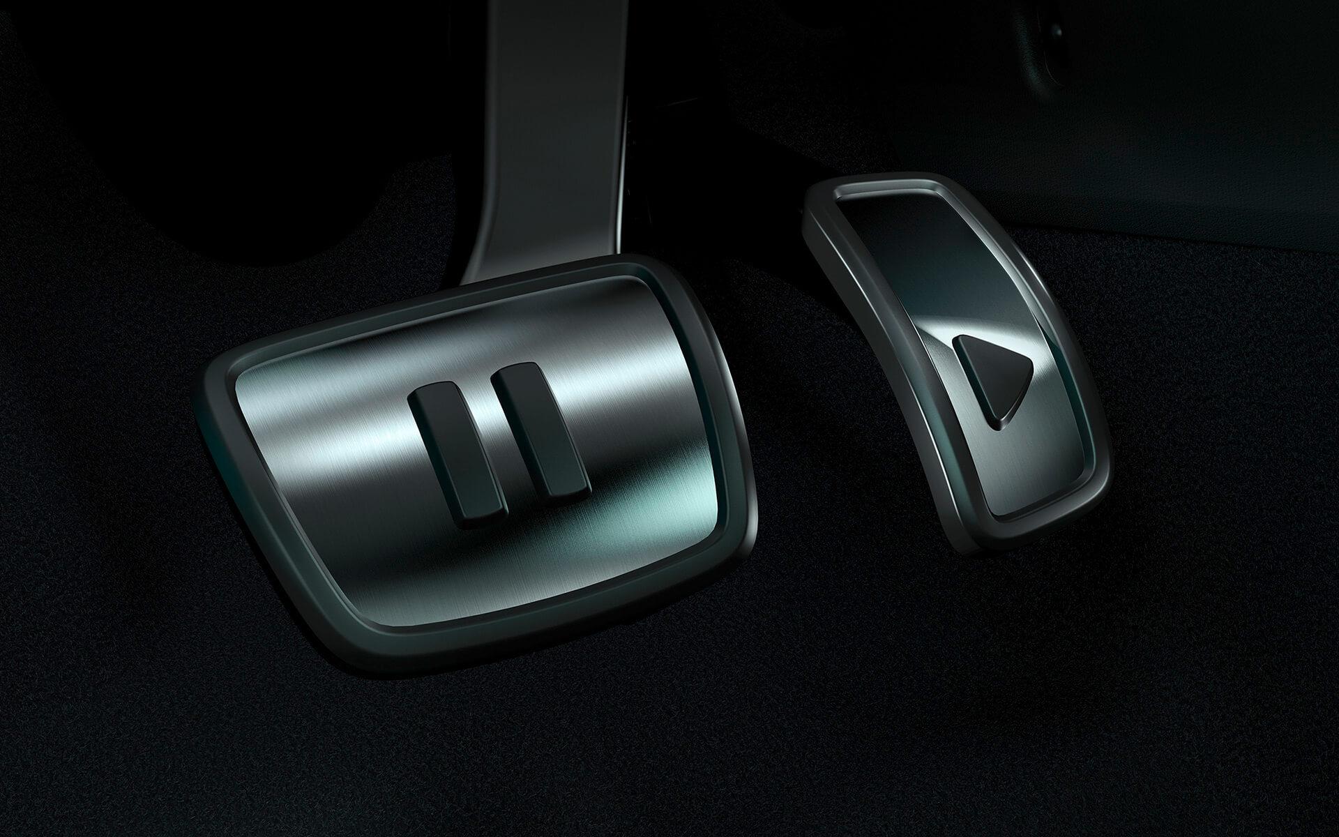 VW ID.3 - Πεντάλ από ανοξείδωτο ατσάλι σε σχεδιασμό Play & Pause