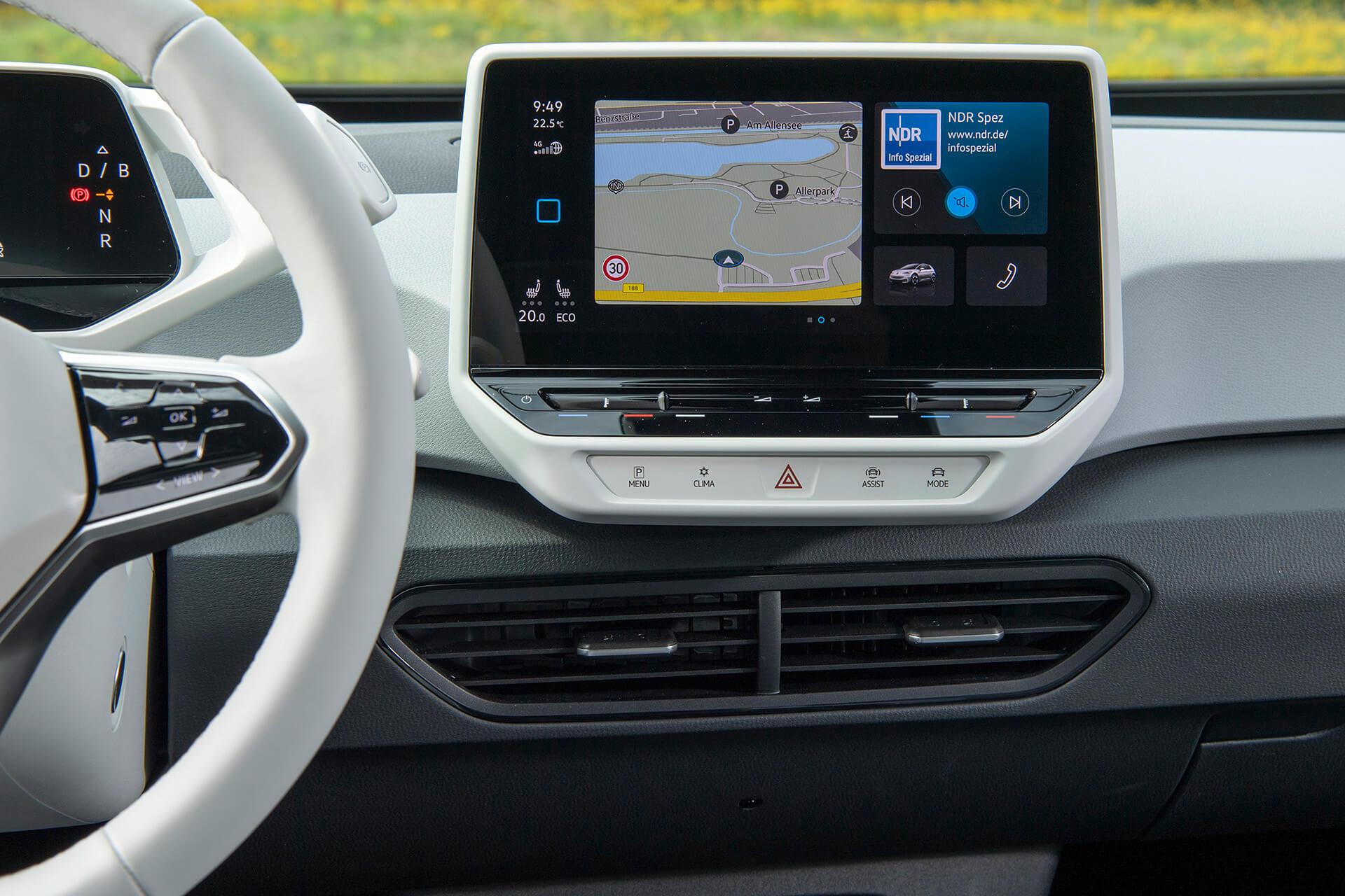 VW ID.3 - We Connect Start - Πλοήγηση