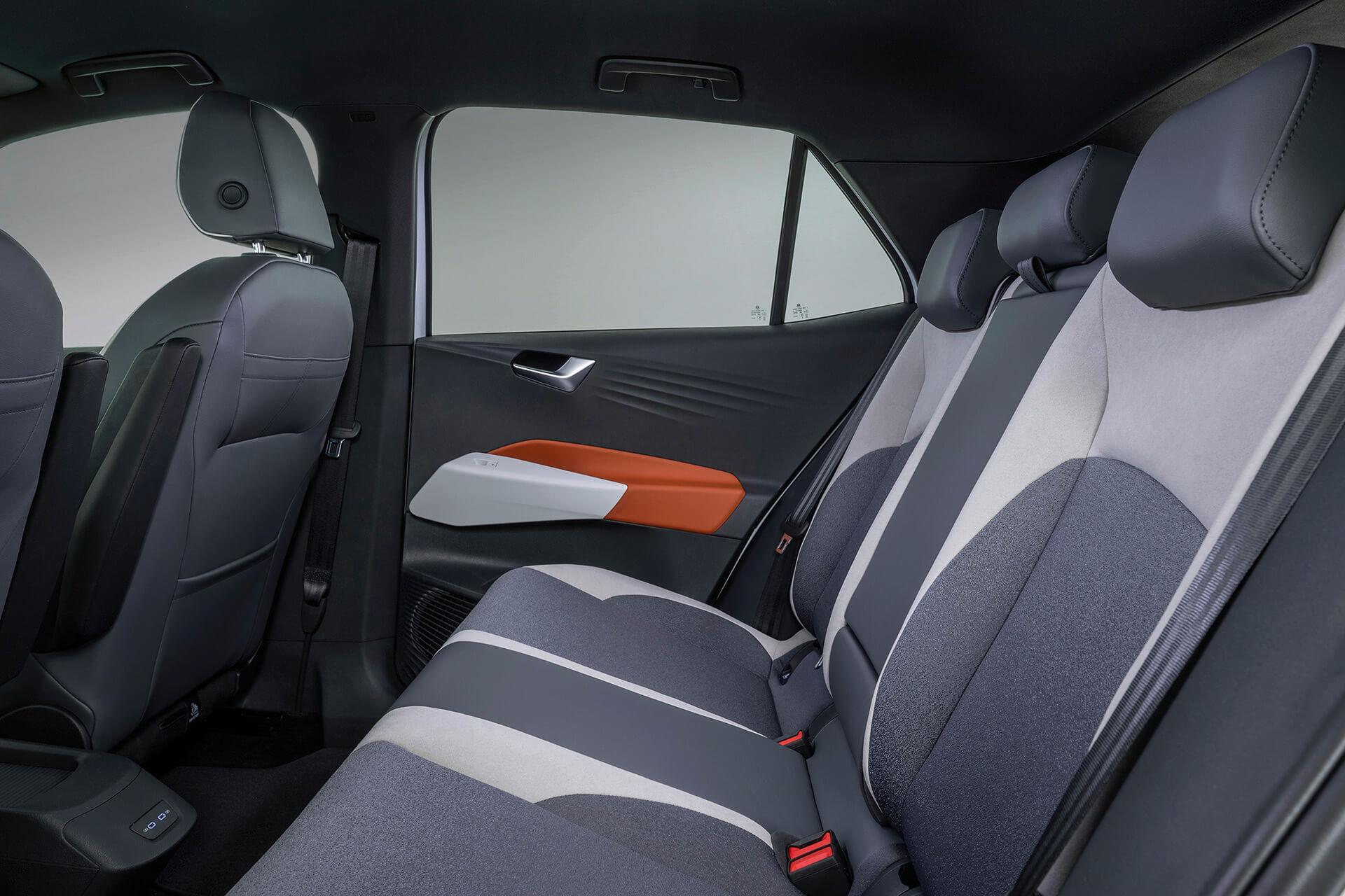 VW ID.3 - Χώρος πίσω επιβατών