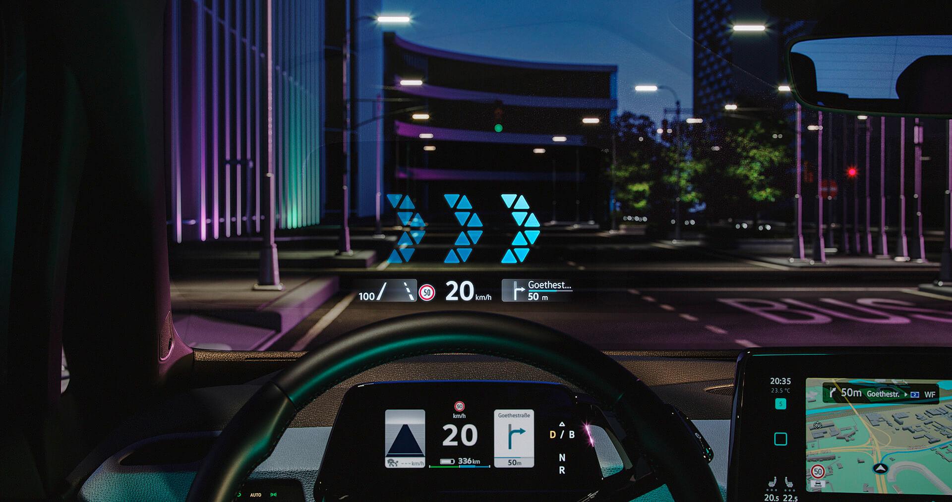 VW ID.3 - Head-up Display επαυξημένης πραγματικότητας