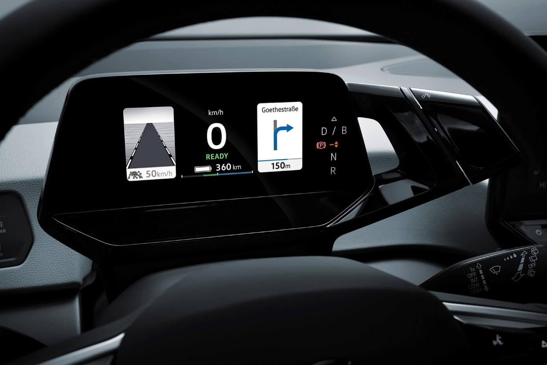 VW ID.3 - IQ. Drive συστήματα υποβοήθησης