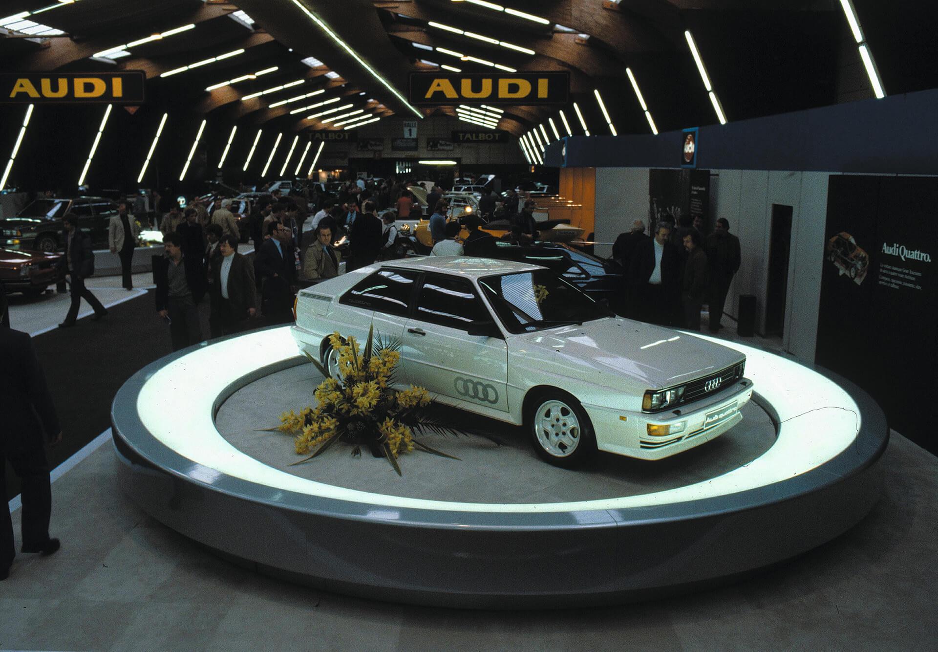 Audi quattro - το αρχικό quattro