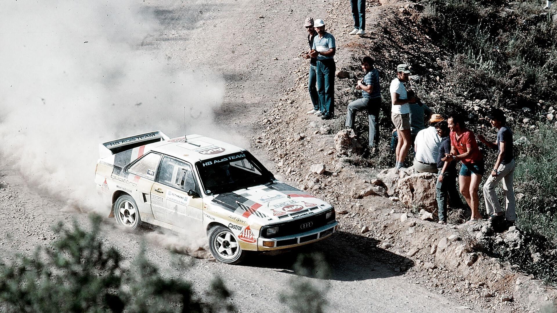 1981, η χρονιά που η Audi μπήκε επίσημα στη σκηνή των ράλι για πρώτη φορά με το quattro