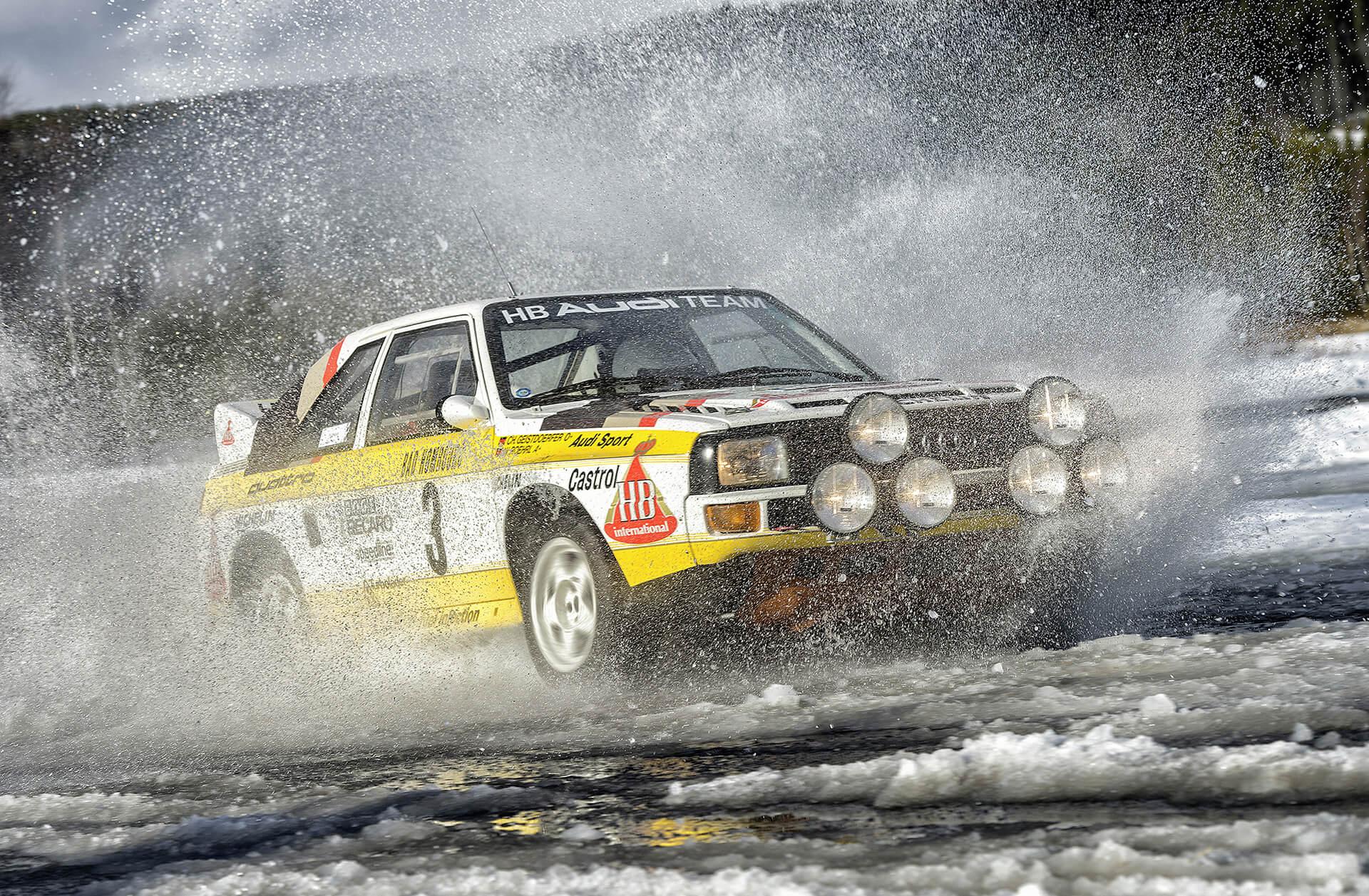 Το 1984 ήταν η πιο επιτυχημένη χρονιά για την Audi και τους οδηγούς της με quattro, στο Παγκόσμιο Πρωτάθλημα Ράλι