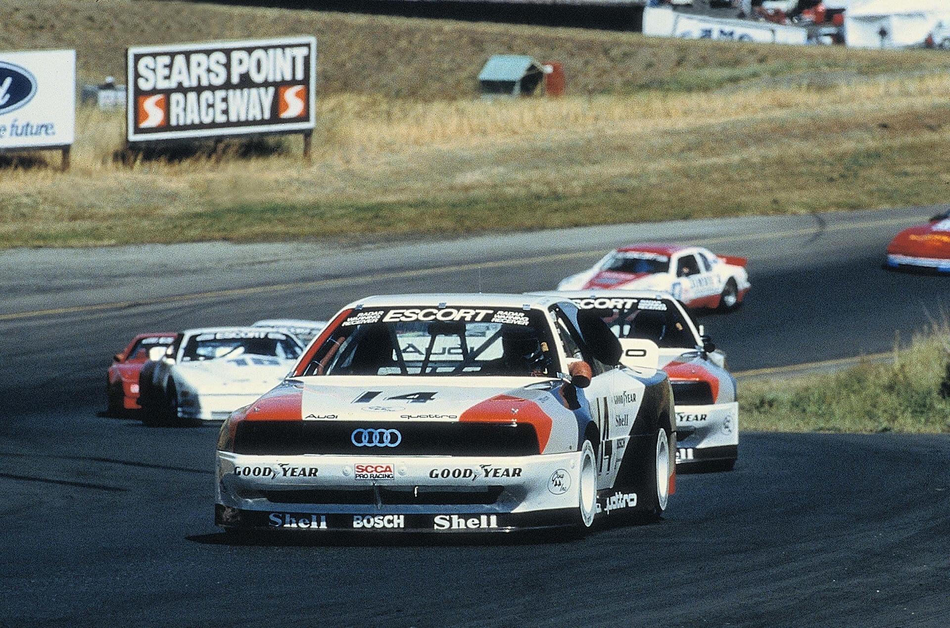Το 1988, το Audi 200 συμμετείχε στη σειρά TransAm στην Αμερική