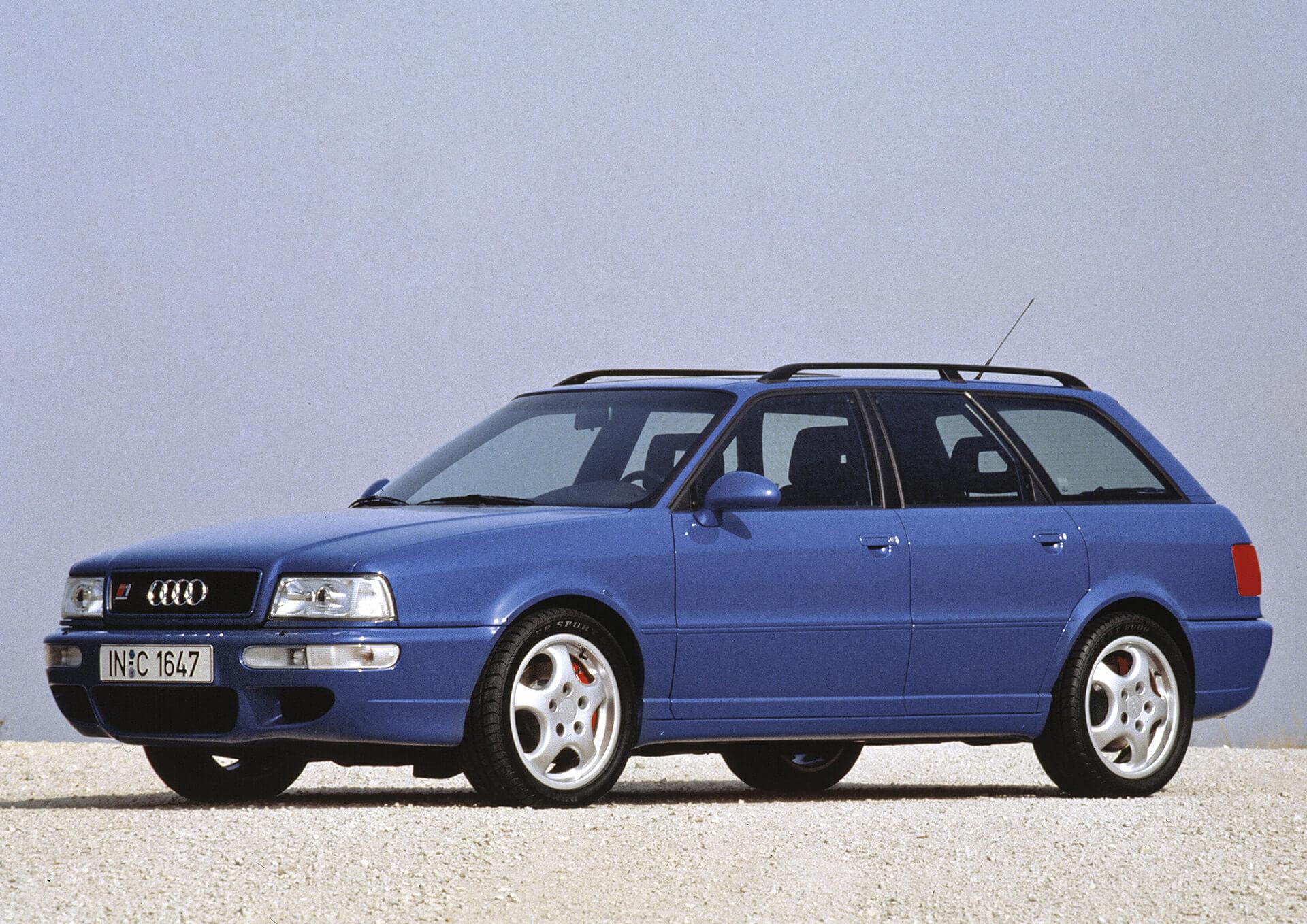 1994, η χρονιά που η Audi λάνσαρε στην αγορά το RS 2 Avant, το πρώτο μοντέλο RS