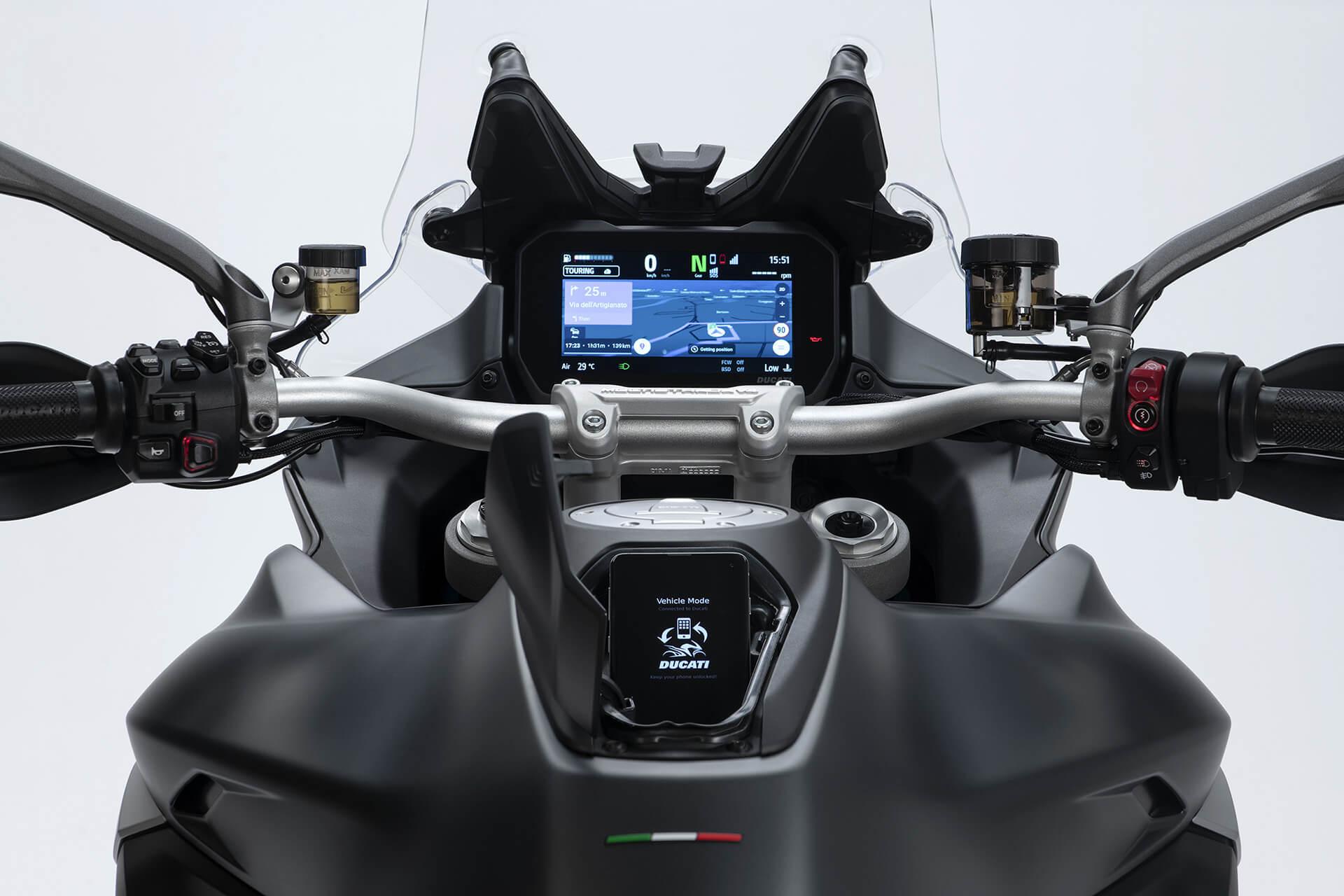 Ducati Multistrada V4 S dashboard
