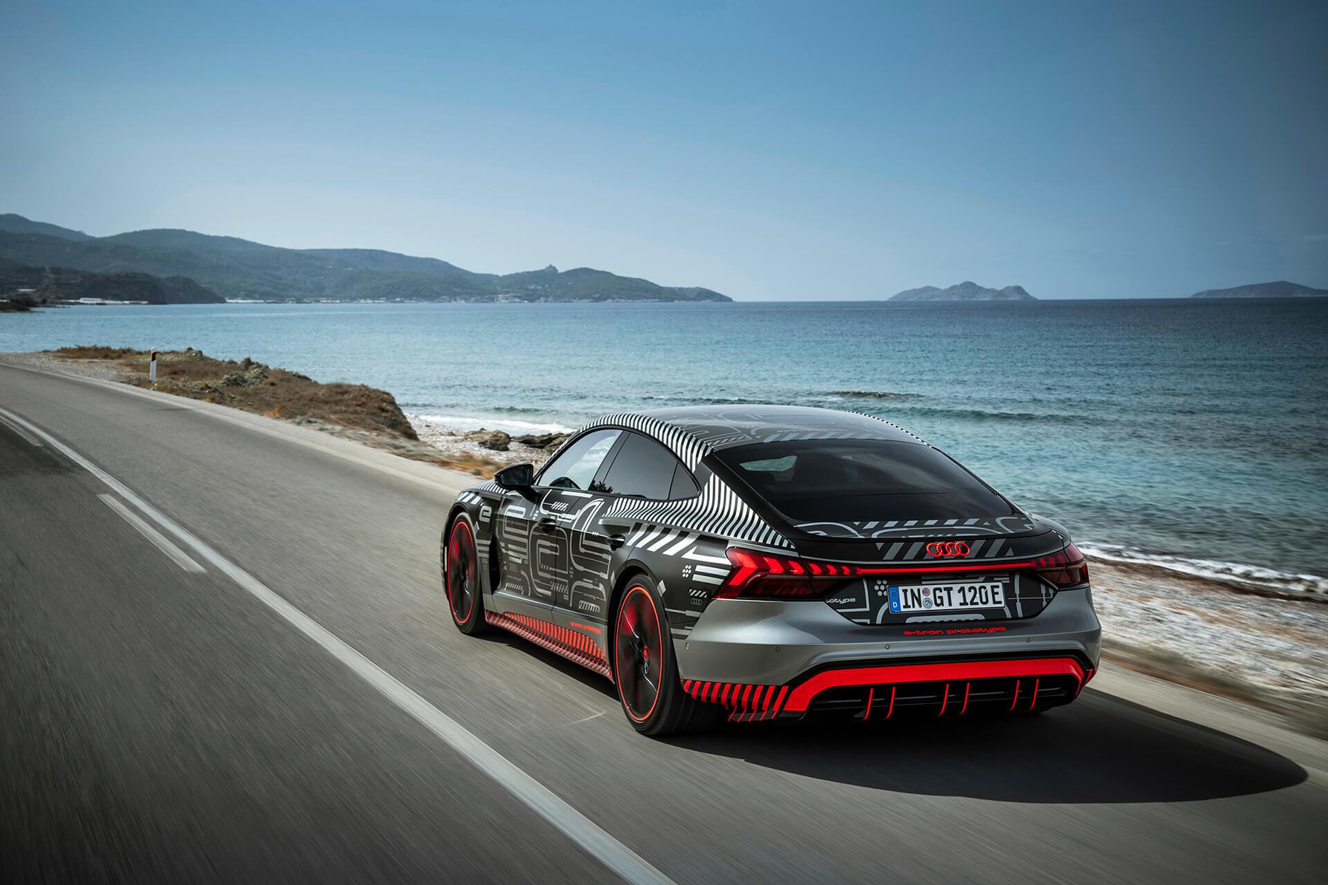 AUDI RS e-Tron GT στη Ρόδο