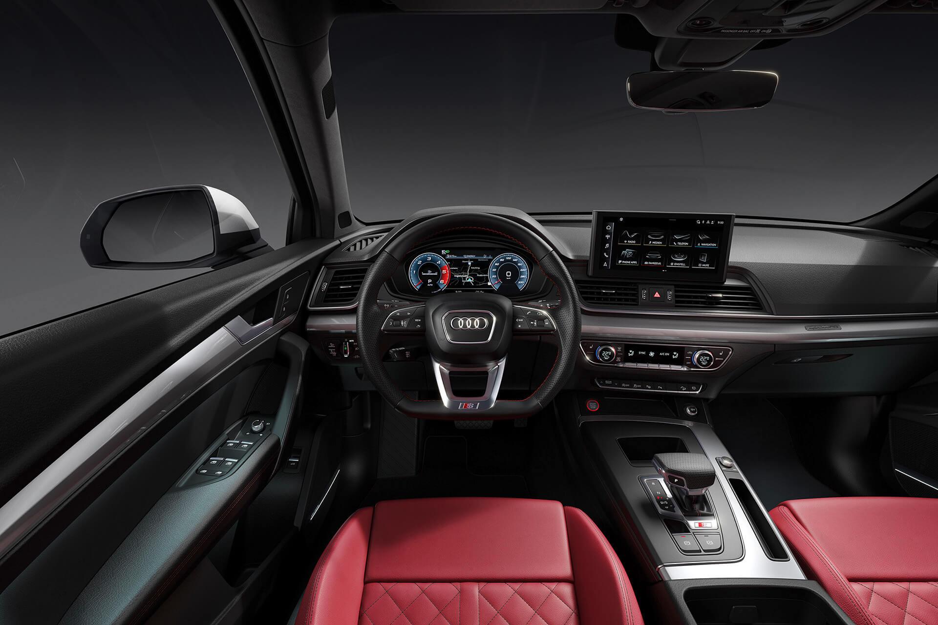 Νέο AUDI SQ5 TDI - Εσωτερικό, οθόνη αφής MMI με διαγώνιο 10,1 ιντσών, σύστημα infotainment