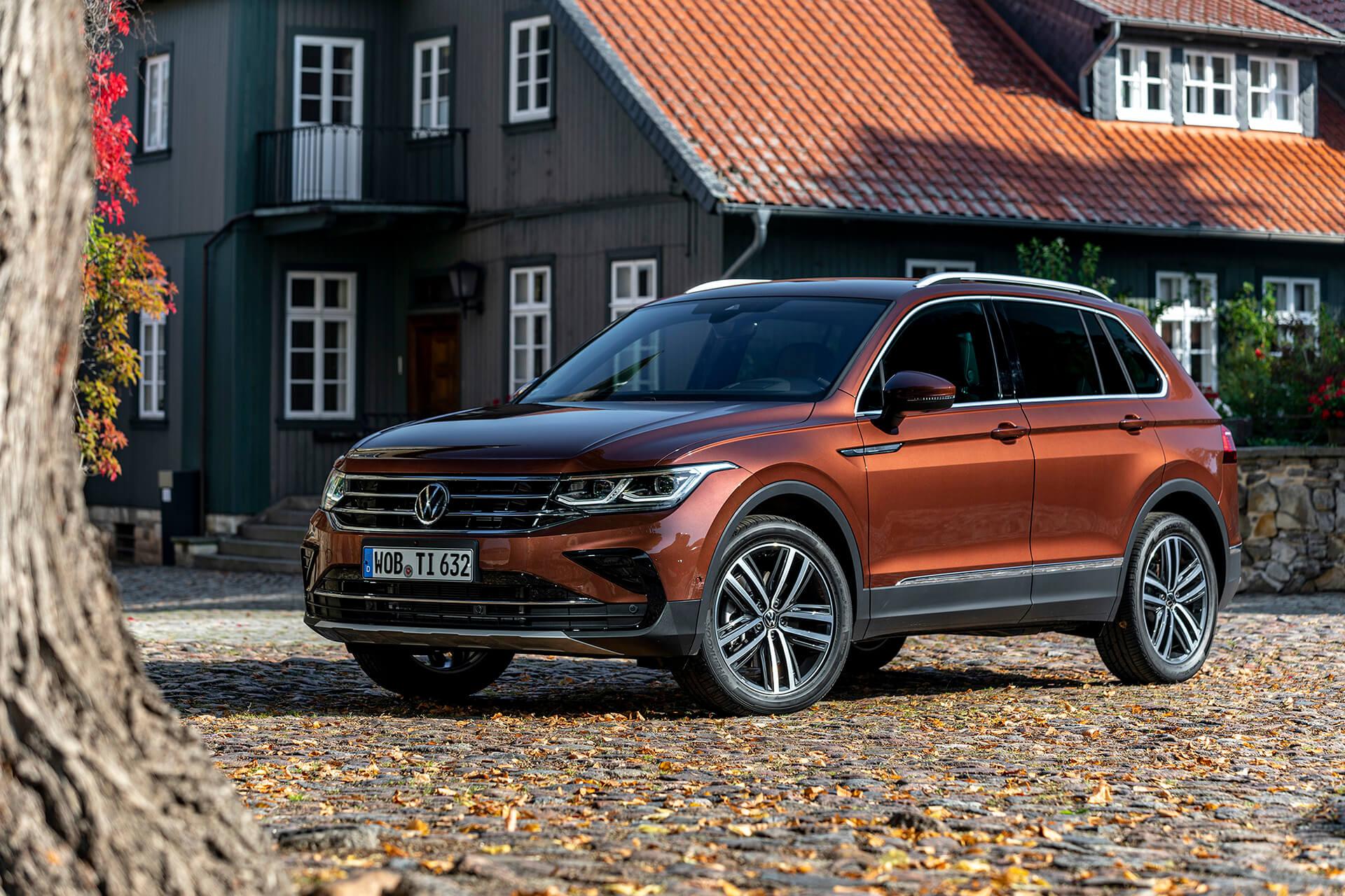 Νέο Volkswagen Tiguan - Εξωτερικός σχεδιασμός εμπρός όψη