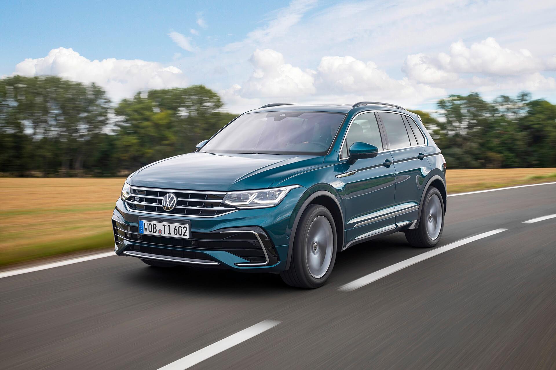 Νέο Volkswagen Tiguan σε κίνηση