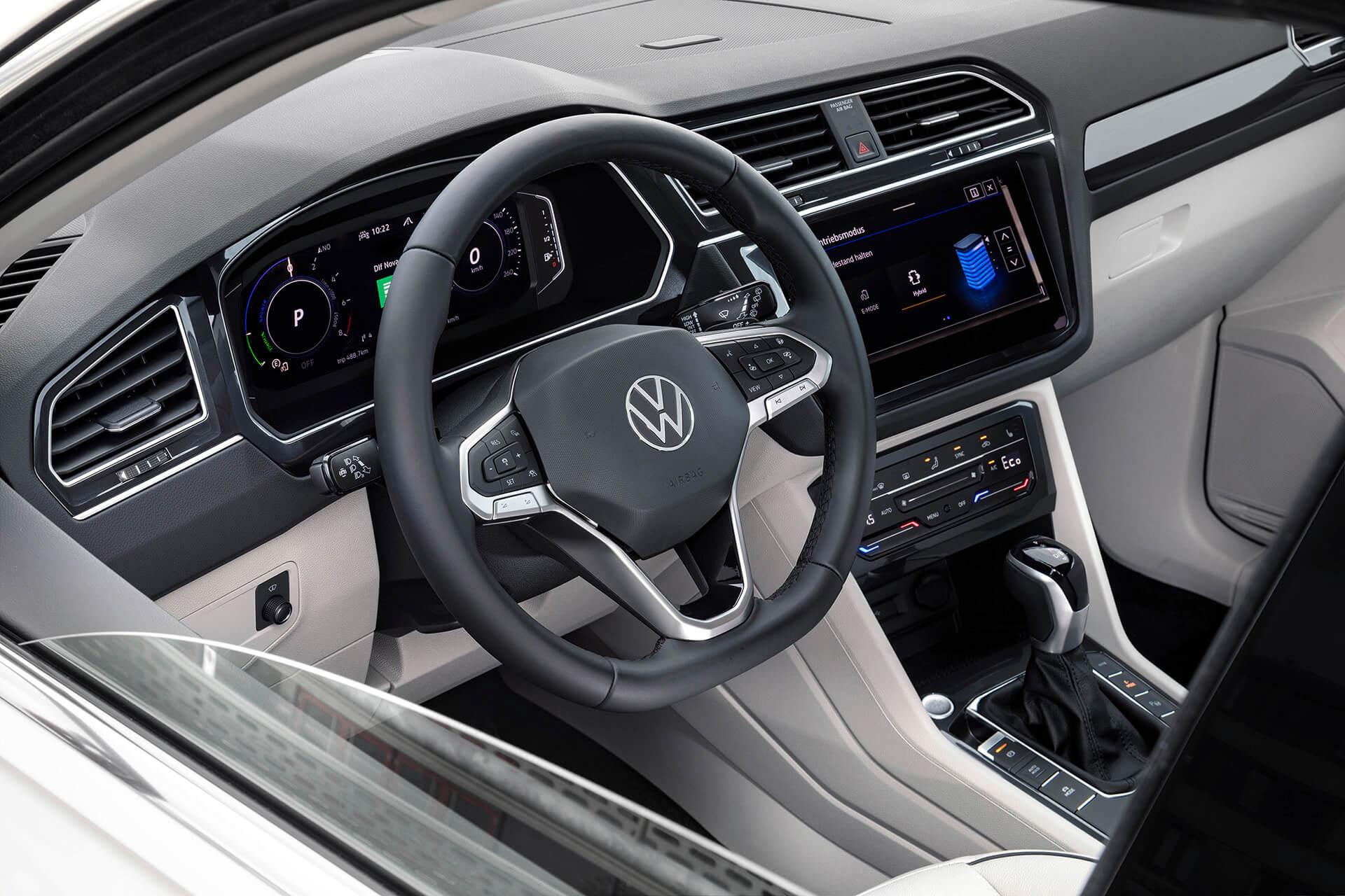 Νέο Volkswagen Tiguan - Εσωτερικό