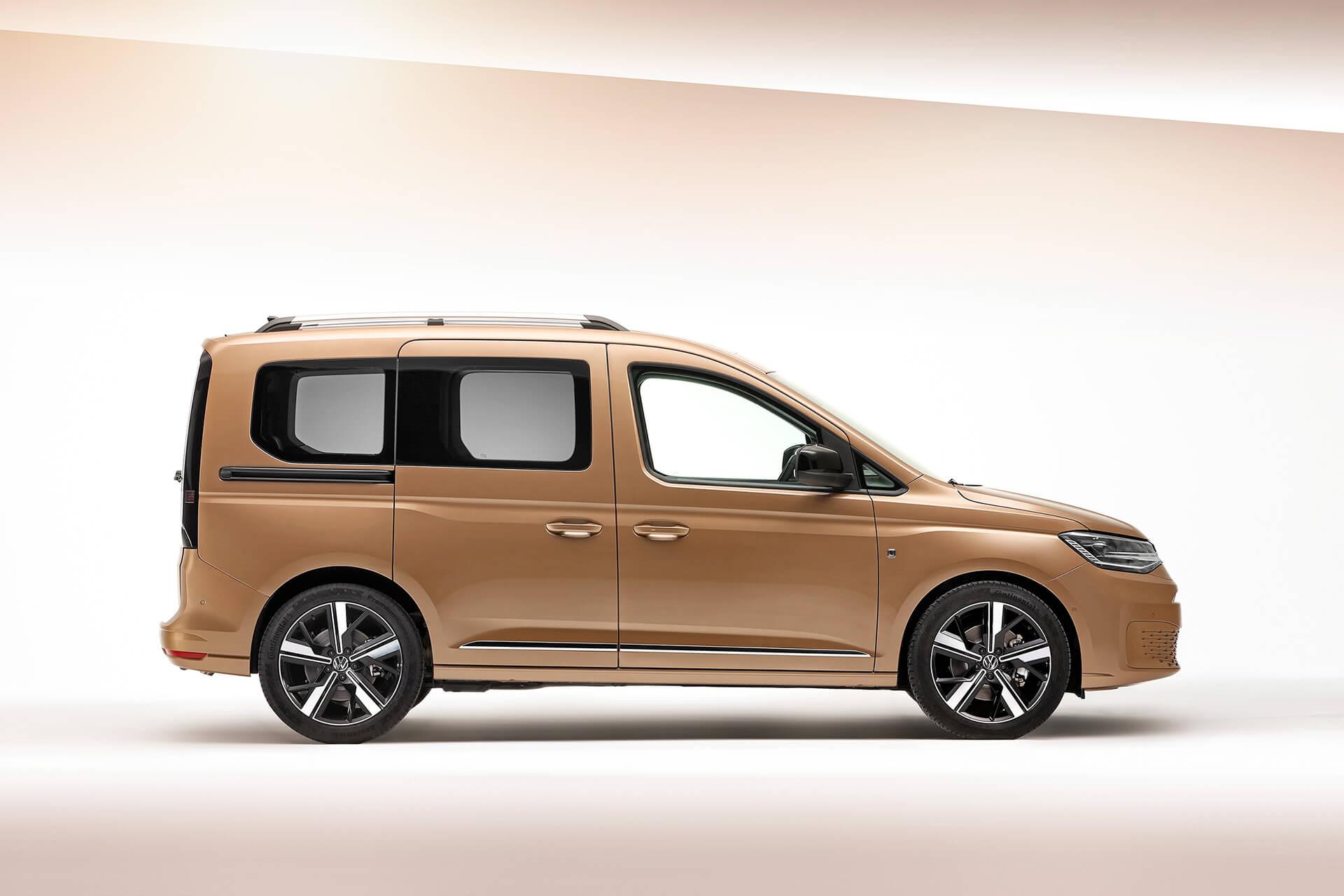 Νέο Volkswagen Caddy - Πλαϊνή όψη