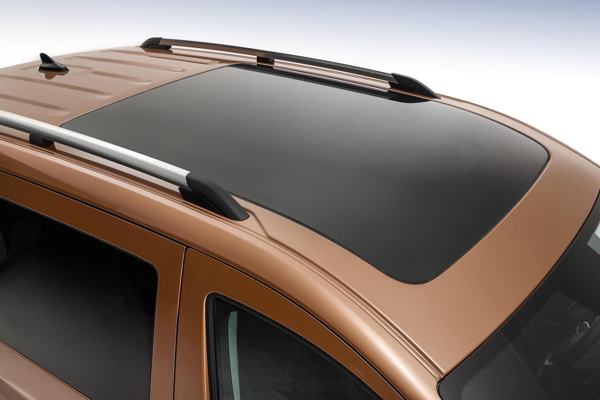 Νέο Volkswagen Caddy - Μεγάλη πανοραμική ηλιοροφή 1,4 τ.μ.
