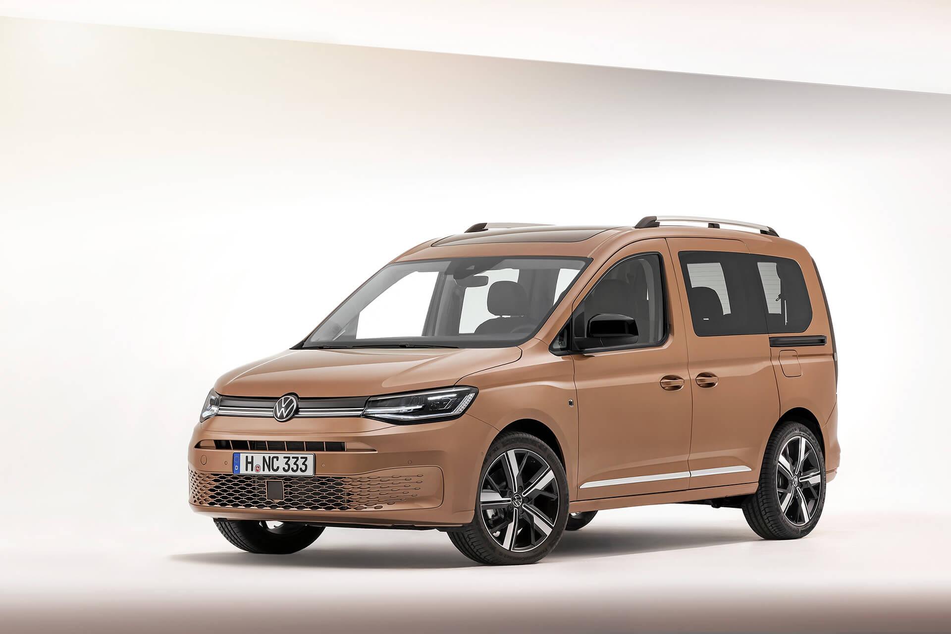 Νέο Volkswagen Caddy - Χαρισματικός σχεδιασμός και νέα εξωτερικά χαρακτηριστικά