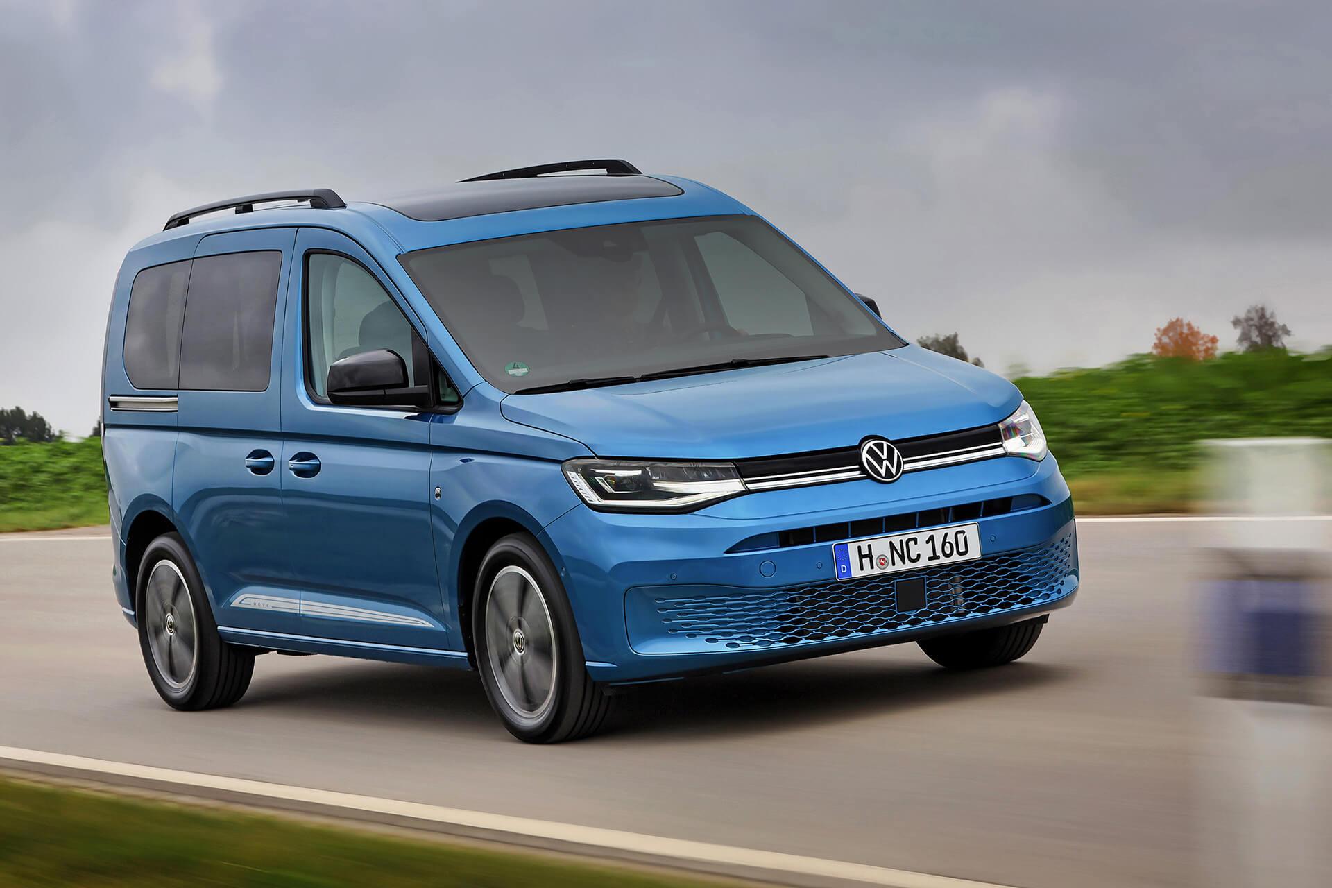 Νέο Volkswagen Caddy - Διαμόρφωση ως people-mover