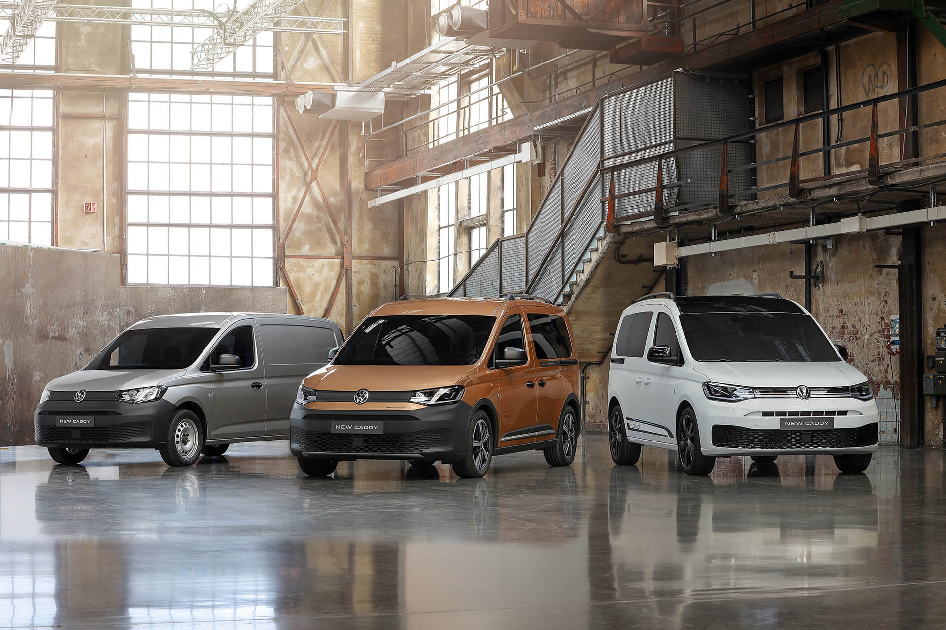 Νέο Volkswagen Caddy - Γκάμα εκδόσεων και χρώματα