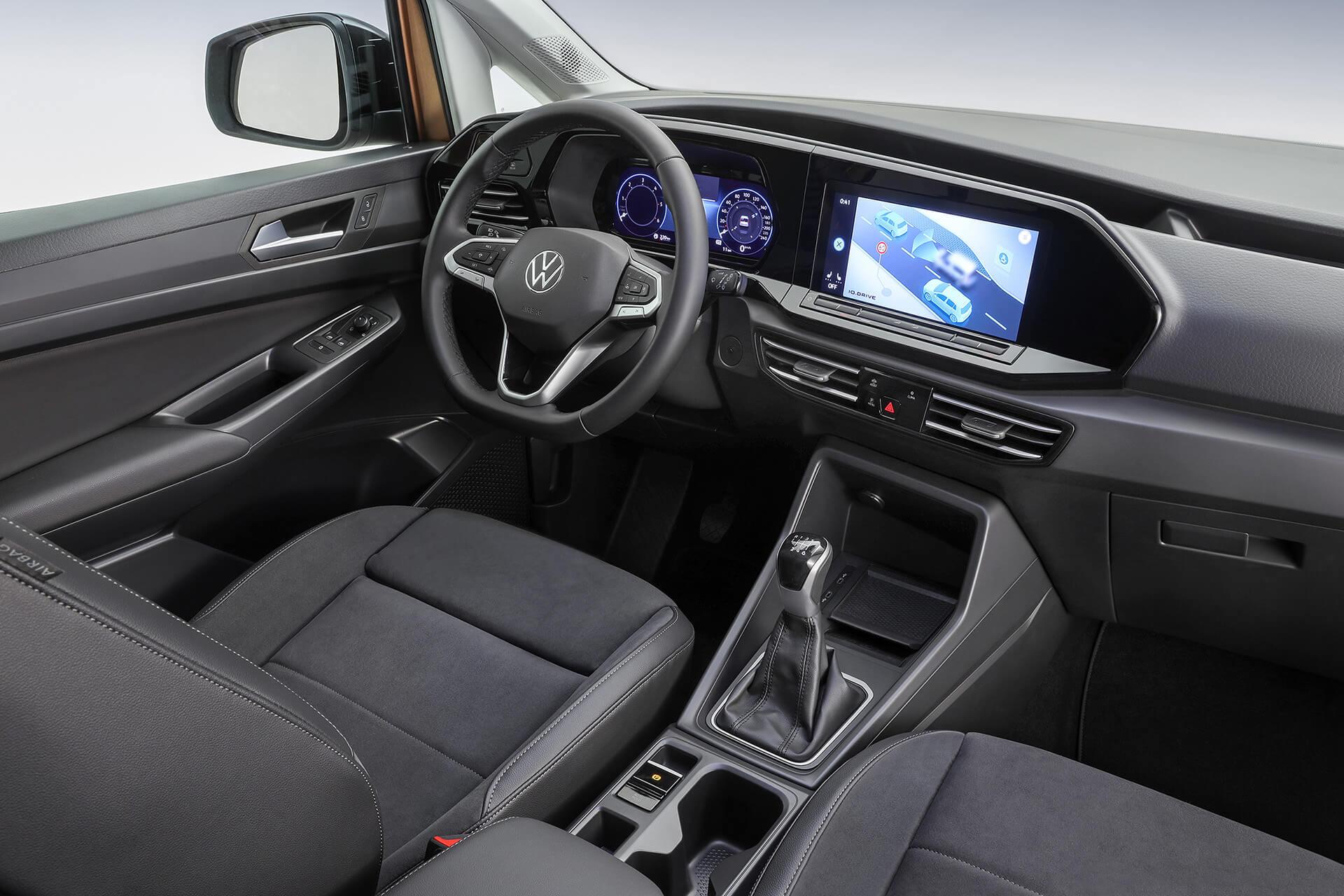 Νέο Volkswagen Caddy - Ψηφιακός high tech πίνακας οργάνων