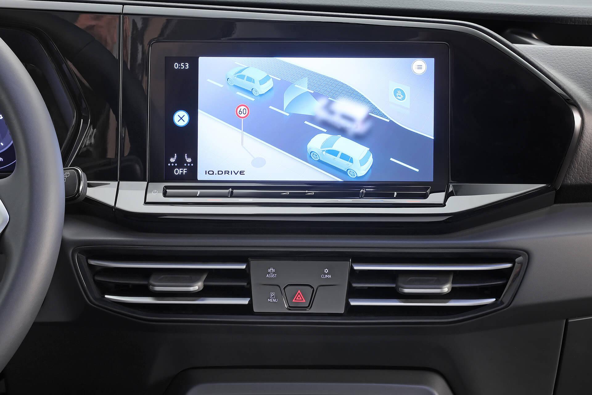 Νέο Volkswagen Caddy - Σύστημα infotainment