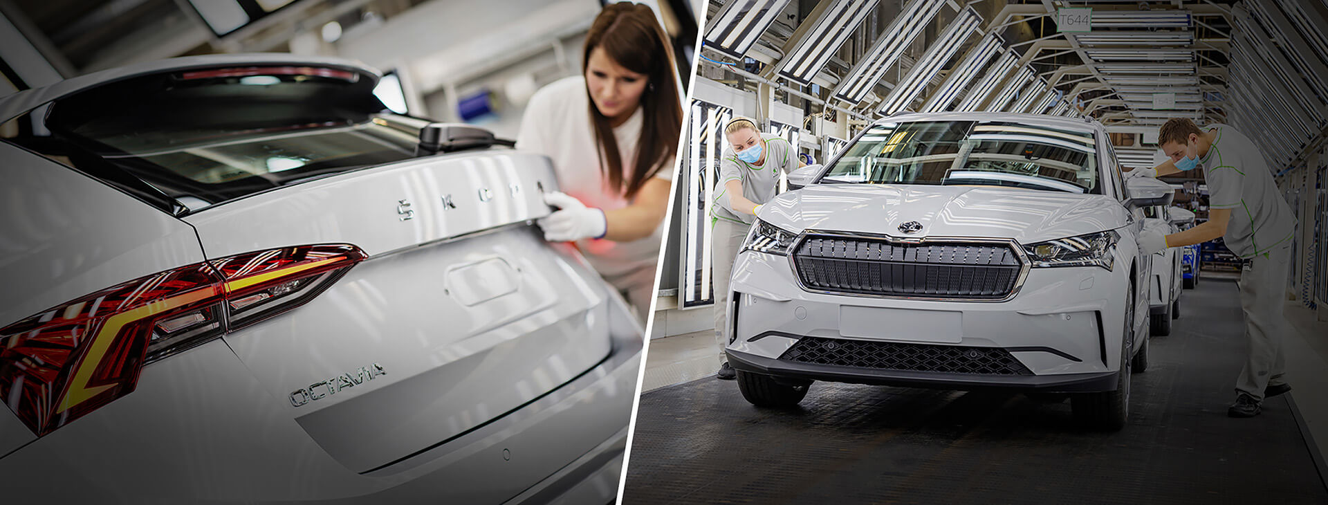 SKODA ENYAQ iV & OCTAVIA & KAROQ PRODUCTION